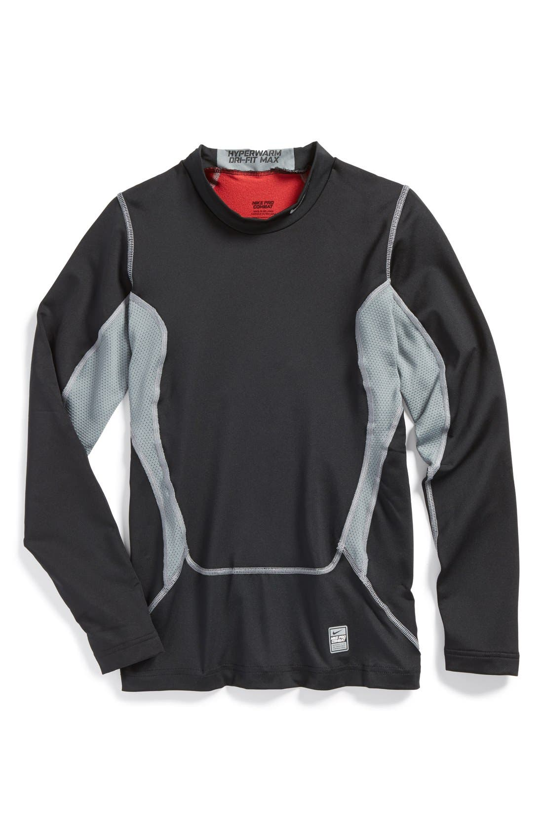 Alternate Image 1 Selected - Nike Compression Top (Big Boys)