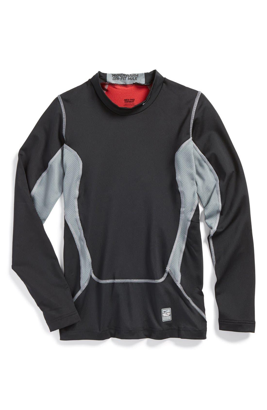 Main Image - Nike Compression Top (Big Boys)