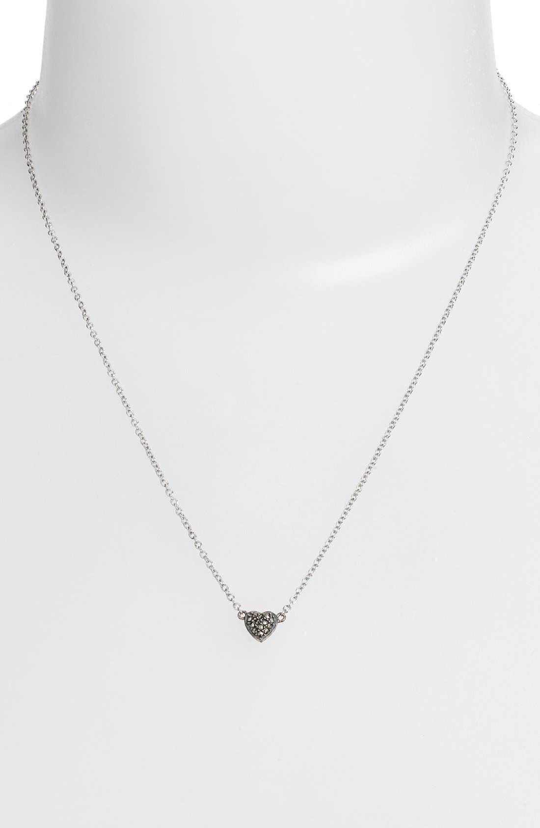 Alternate Image 2  - Judith Jack 'Mini Motives' Reversible Heart Pendant Necklace