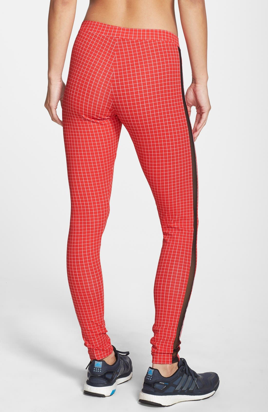Alternate Image 2  - adidas 'Modern Tartan' Leggings