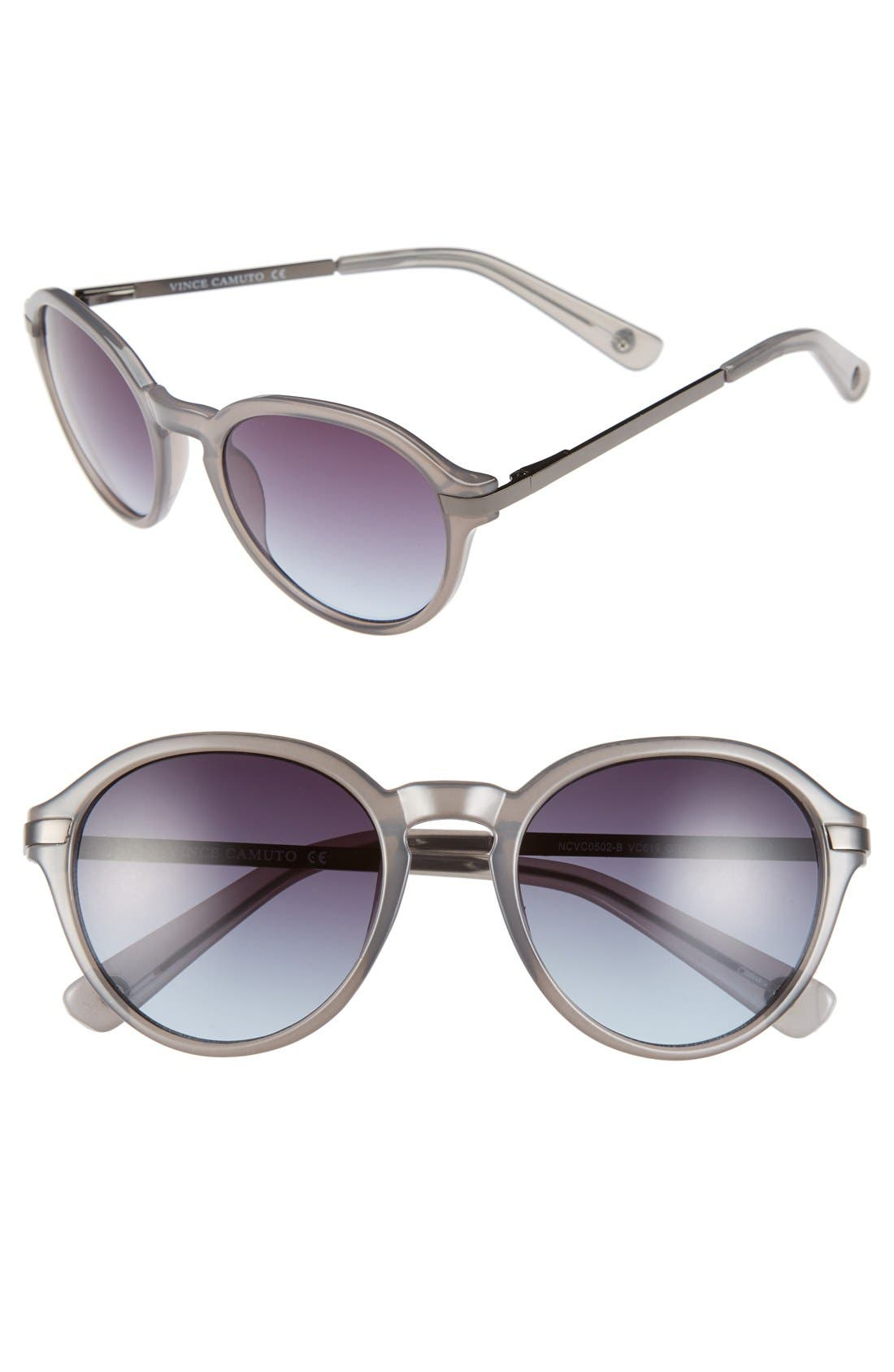 Alternate Image 1 Selected - Vince Camuto 52mm Round Sunglasses