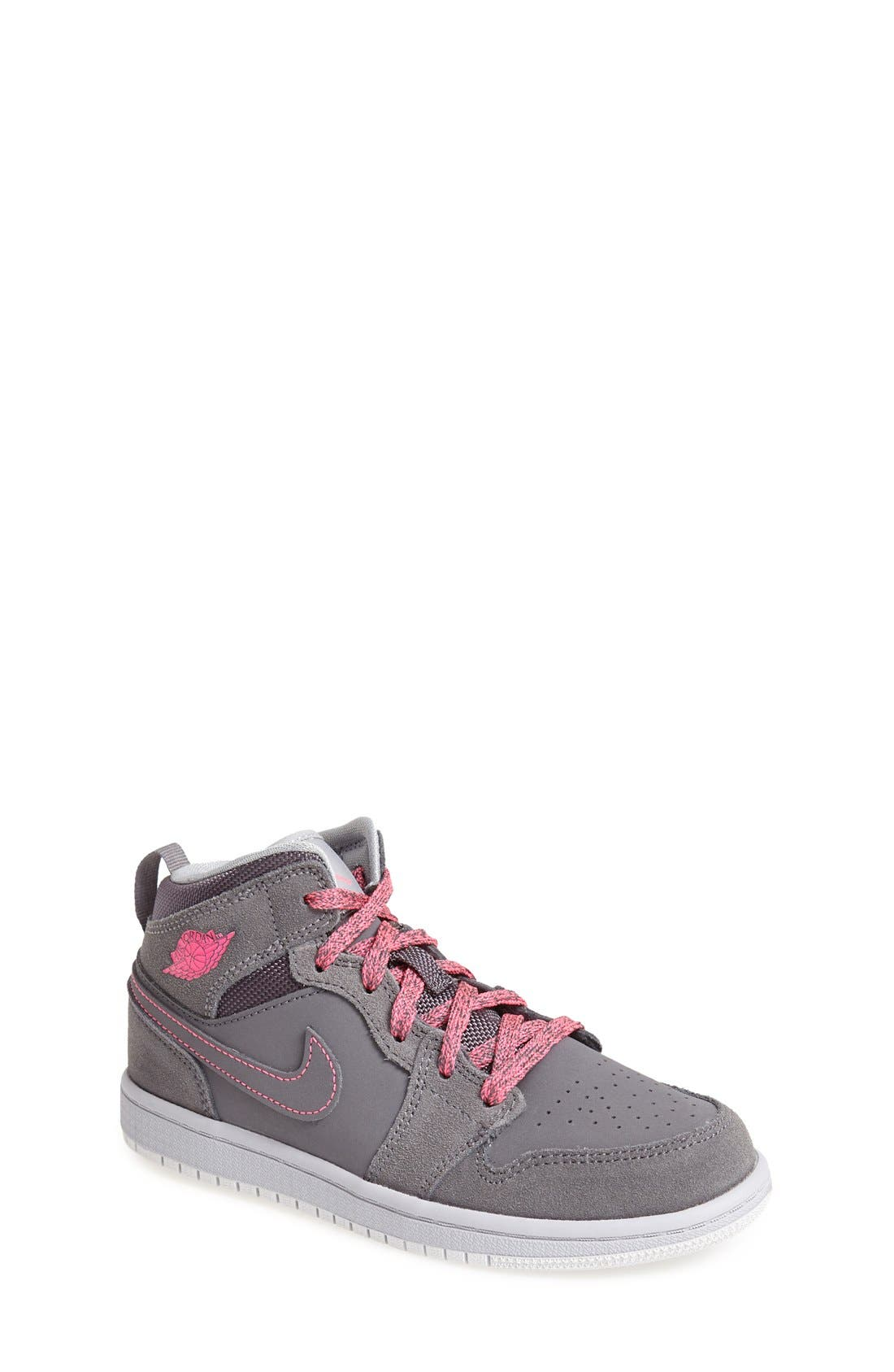 Main Image - Nike 'Air Jordan 1 Mid' Sneaker (Toddler & Little Kid)