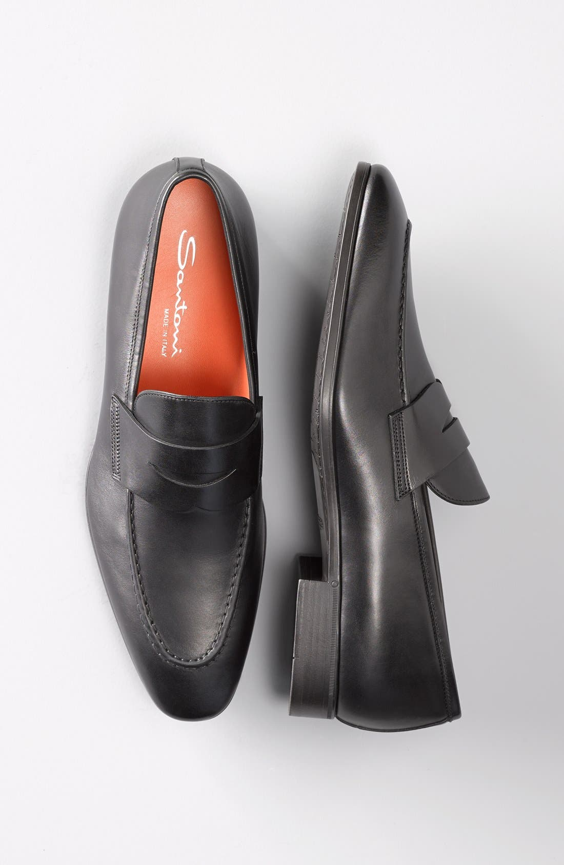 Alternate Image 5  - Santoni 'Will' Penny Loafer (Men)