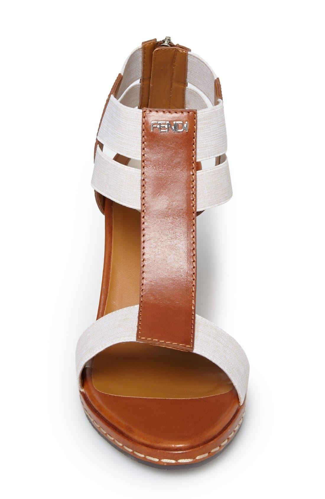 Alternate Image 3  - Fendi 'Carioca' Wedge Sandal (Women)