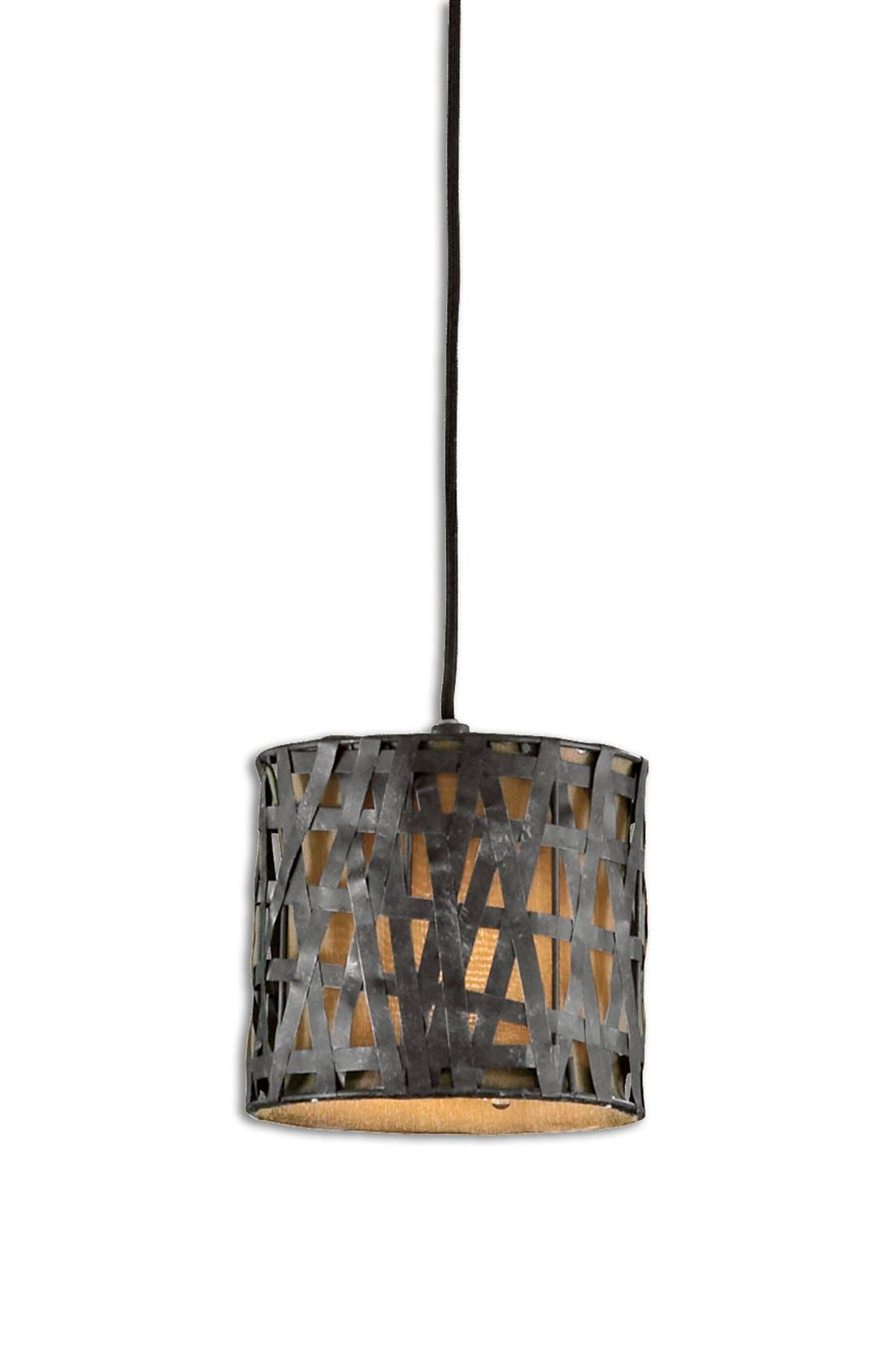 Uttermost 'Alita - Mini' Drum Pendant Light