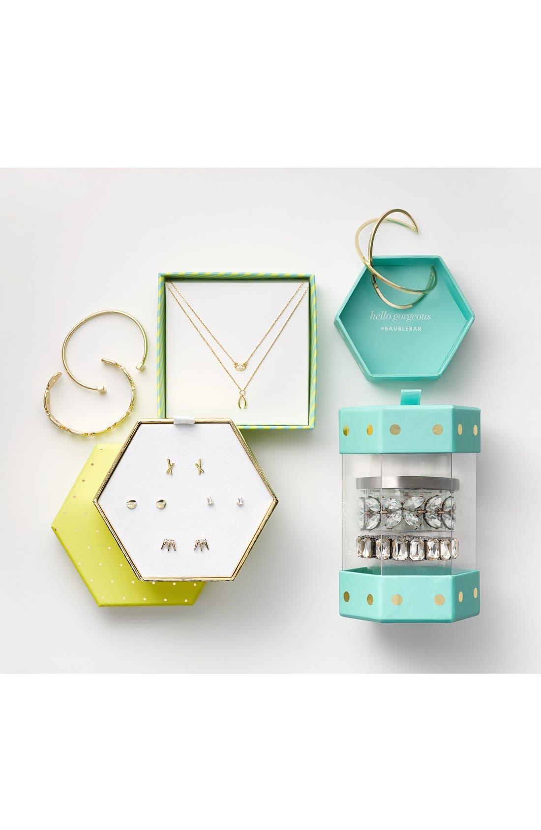 Alternate Image 6  - BaubleBar 'Classic: Evening Bracelet Stack' Bangle Gift Set