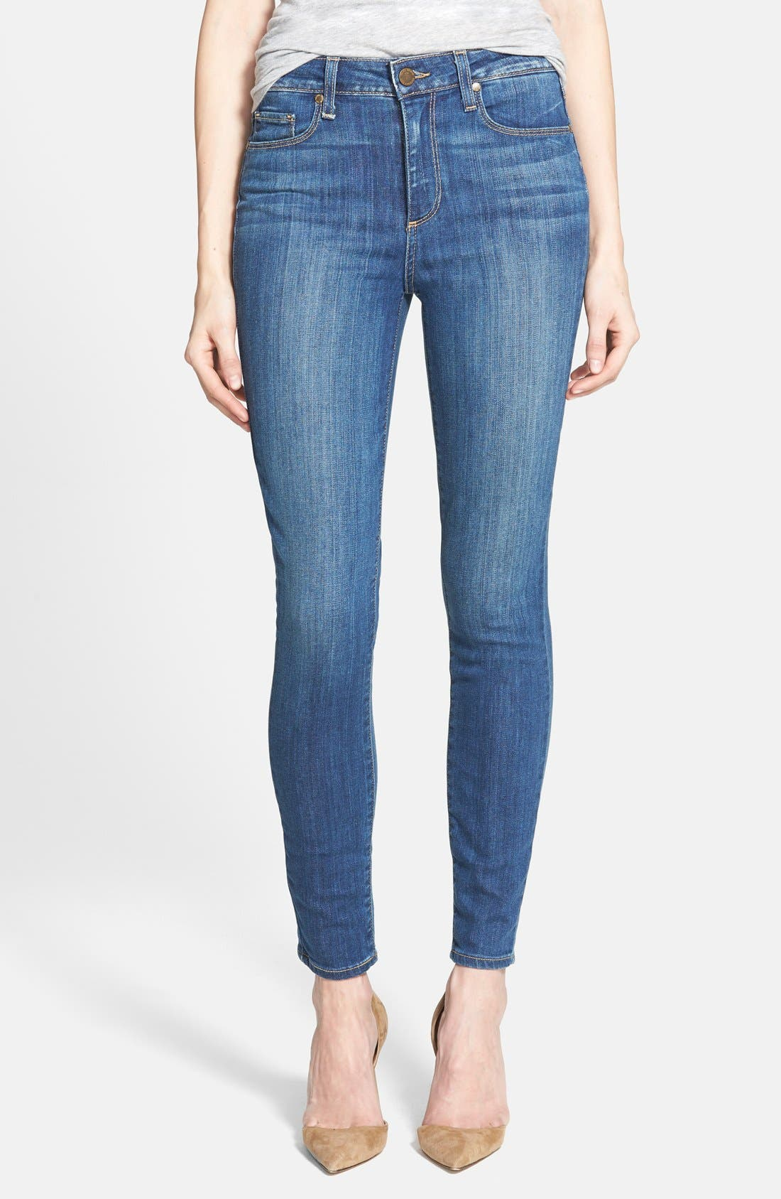 Alternate Image 1 Selected - Paige Denim 'Hoxton' Ankle Jeans (Orson Blue)
