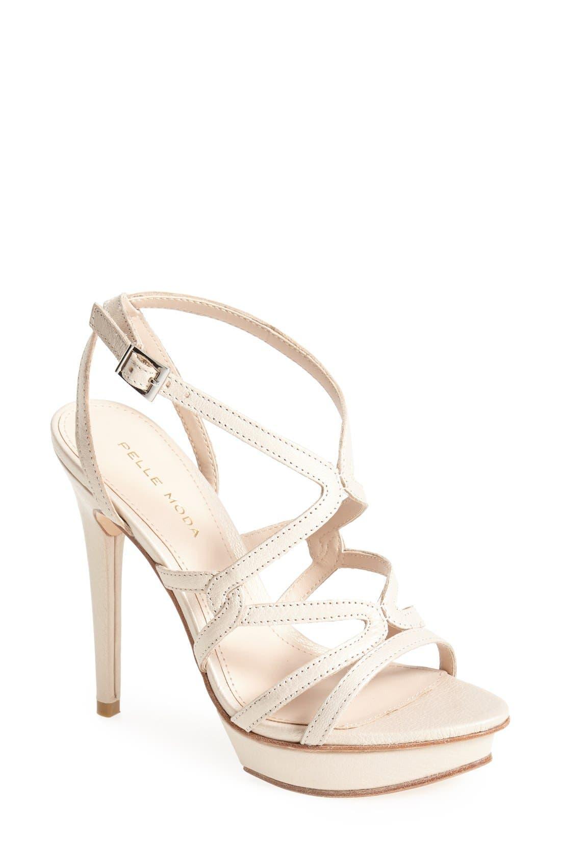 Alternate Image 1 Selected - Pelle Moda 'Farah II' Sandal (Women)