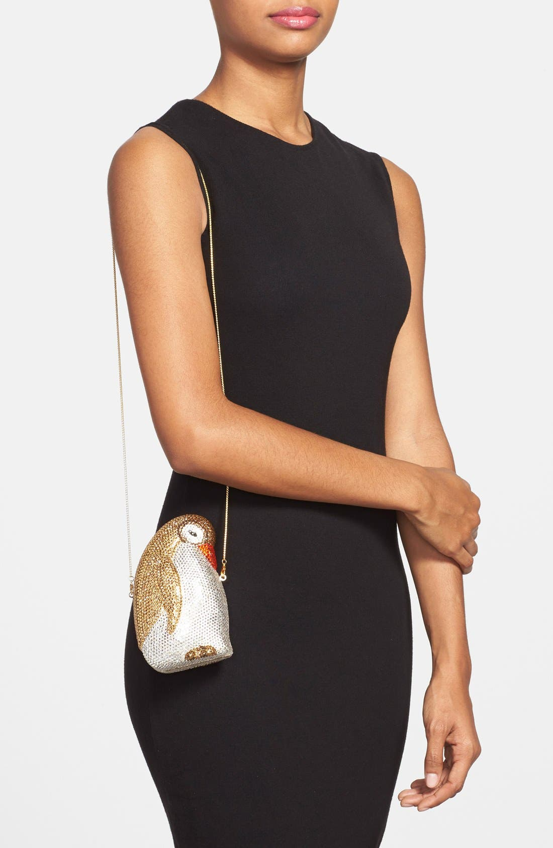 Alternate Image 2  - Natasha Couture 'Penny The Penguin' Crystal Clutch