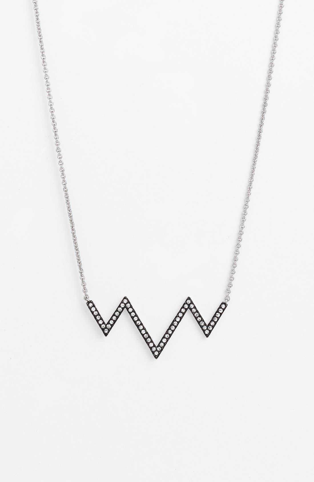 Alternate Image 1 Selected - Nadri Chevron Pendant Necklace