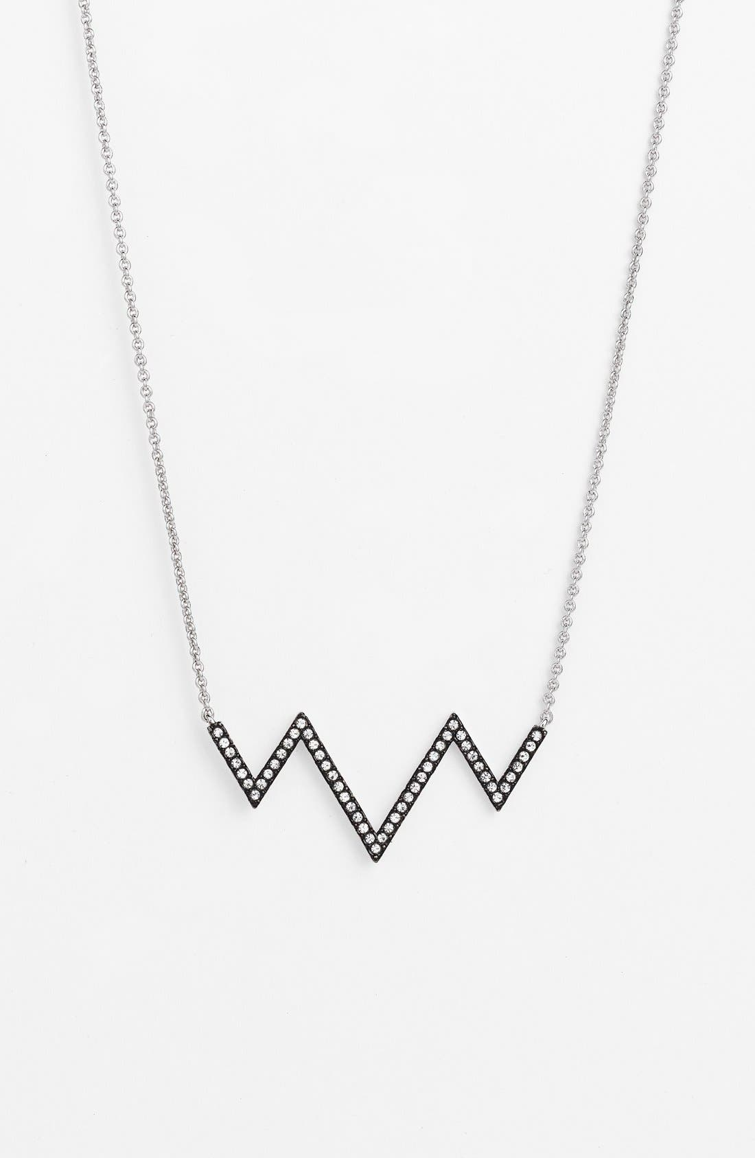 Main Image - Nadri Chevron Pendant Necklace
