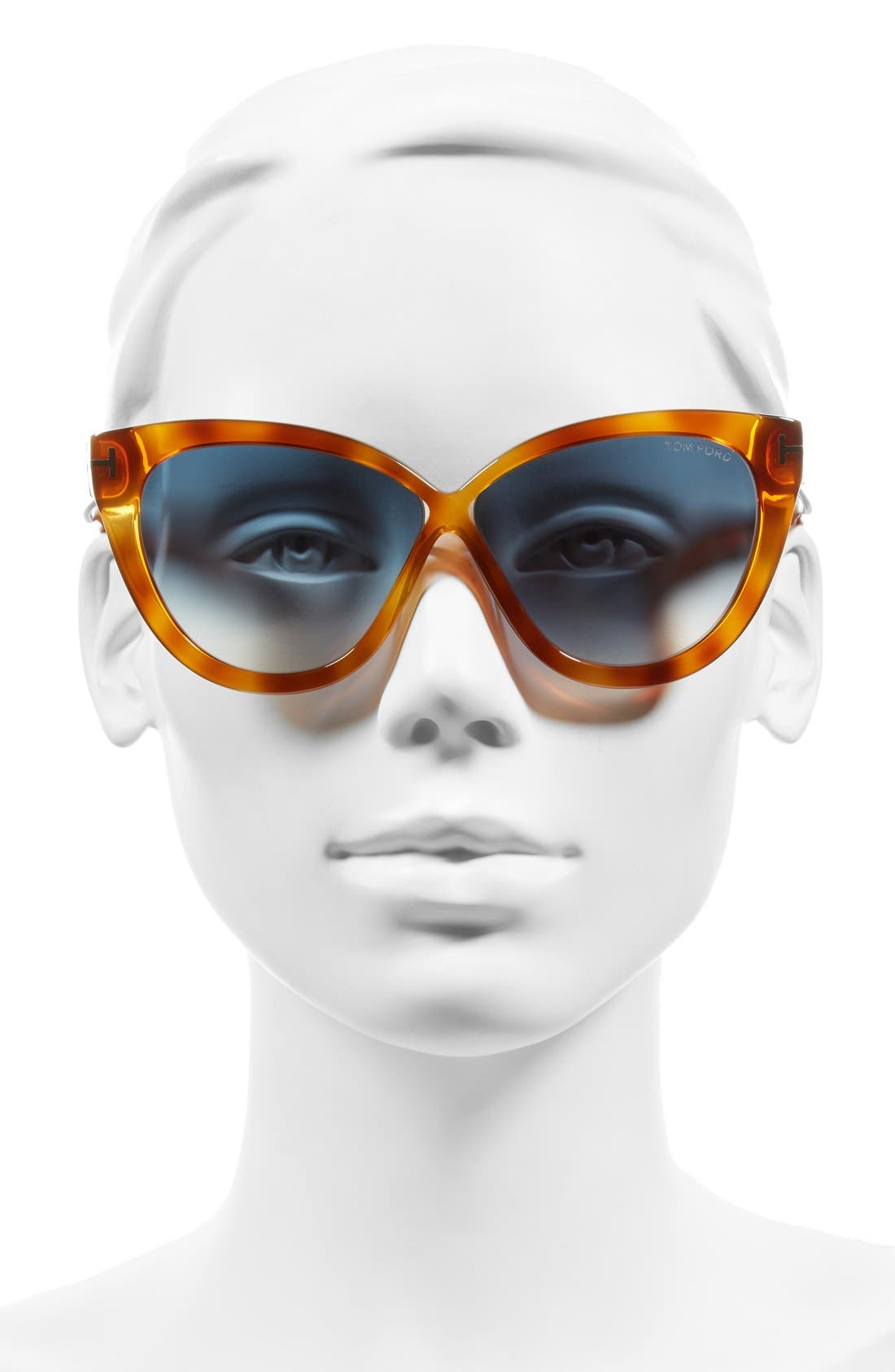 Alternate Image 2  - Tom Ford Arabella 59mm Cat Eye Sunglasses