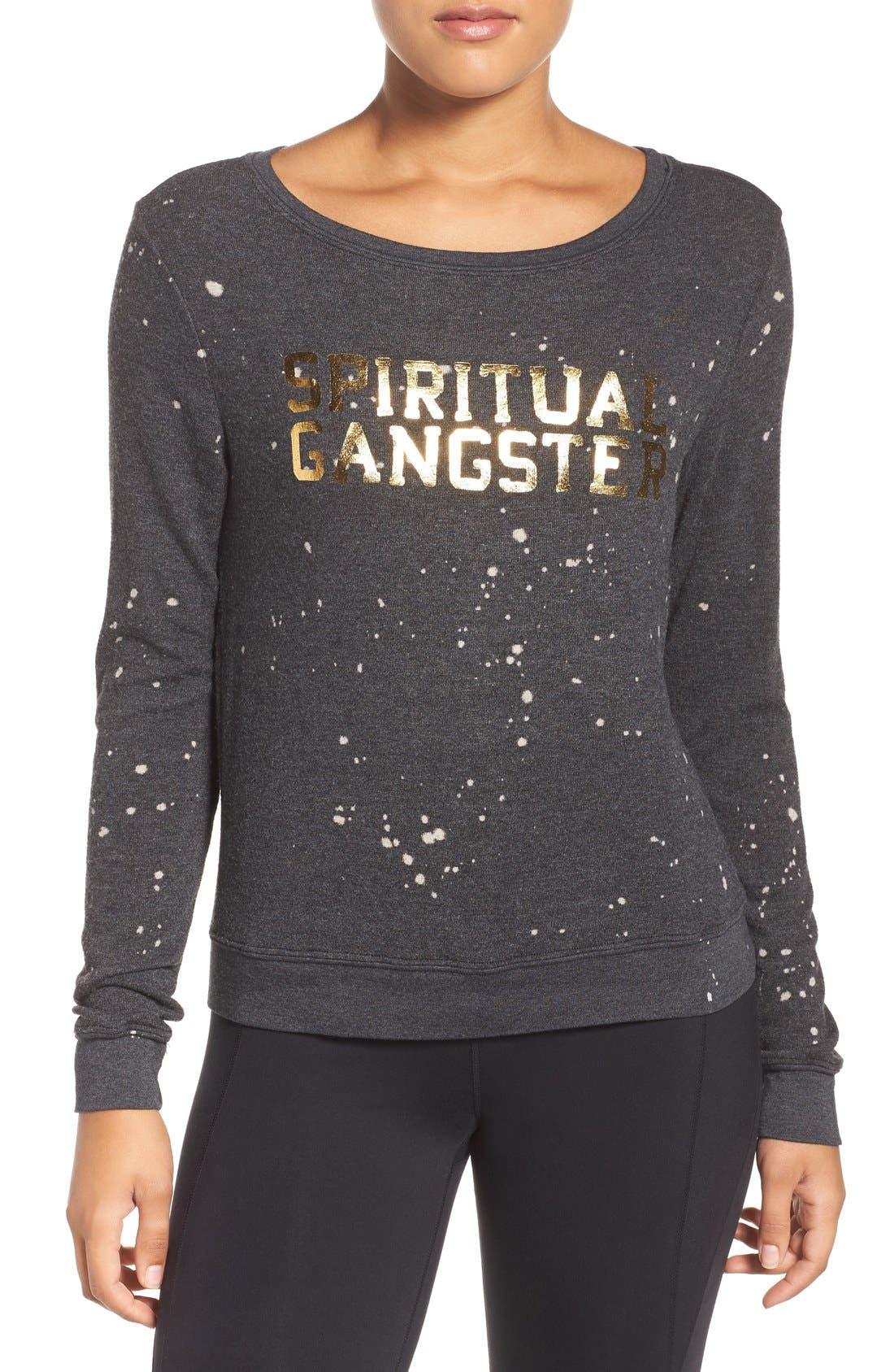 Alternate Image 1 Selected - Spiritual Gangster Constellation Savasana Sweatshirt