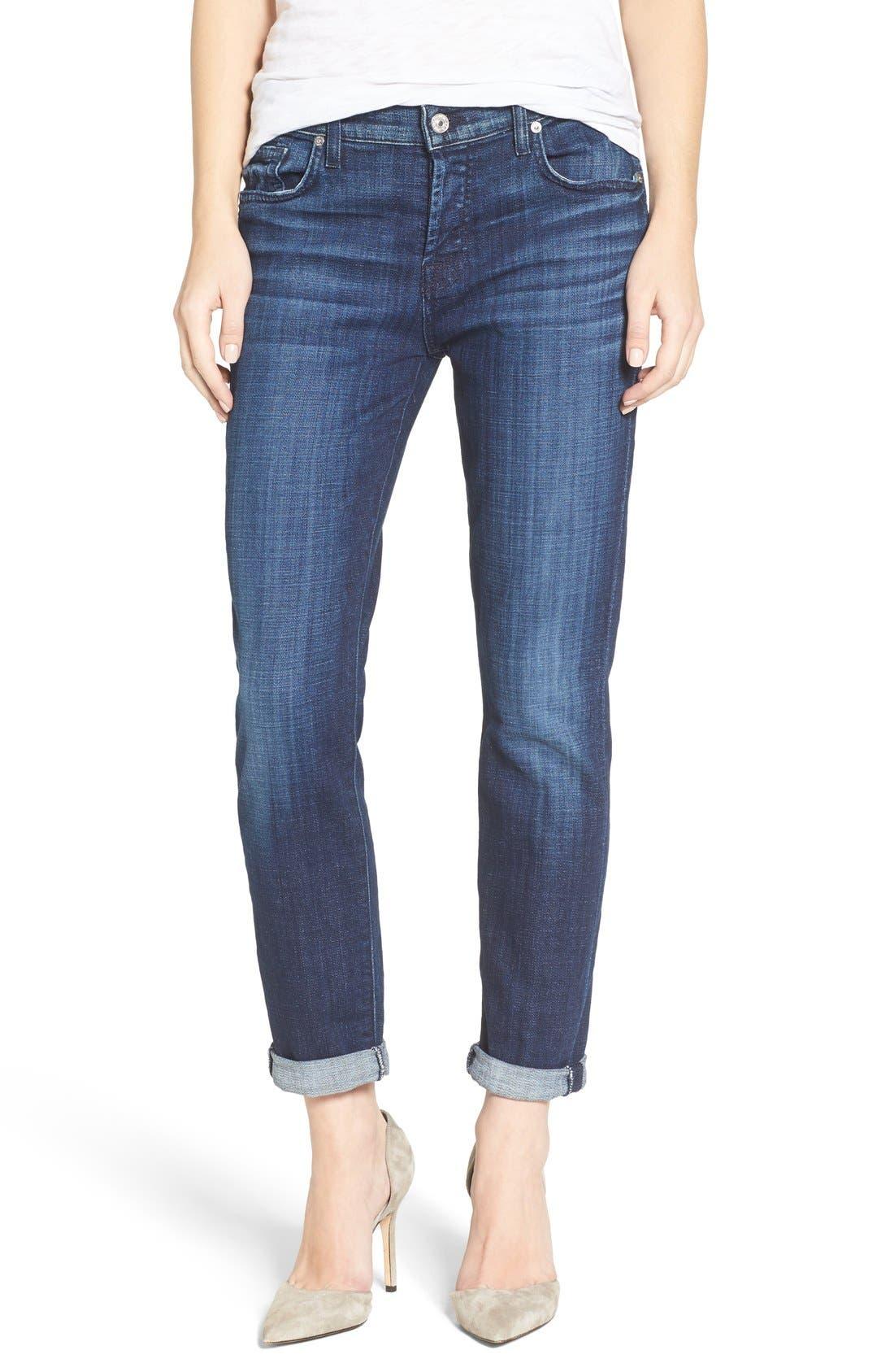 Alternate Image 1 Selected - 7 For All Mankind® Josefina Boyfriend Jeans
