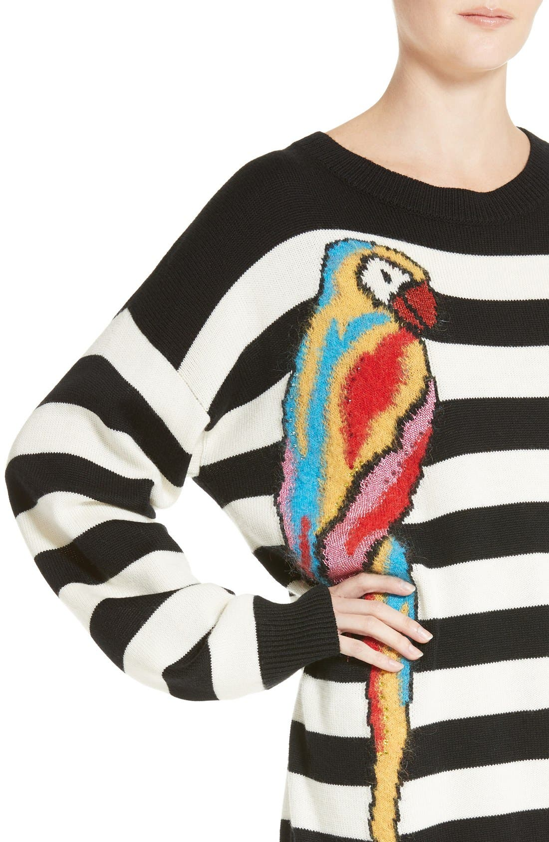 Alternate Image 6  - MARC JACOBS Parrot Jacquard Sweater