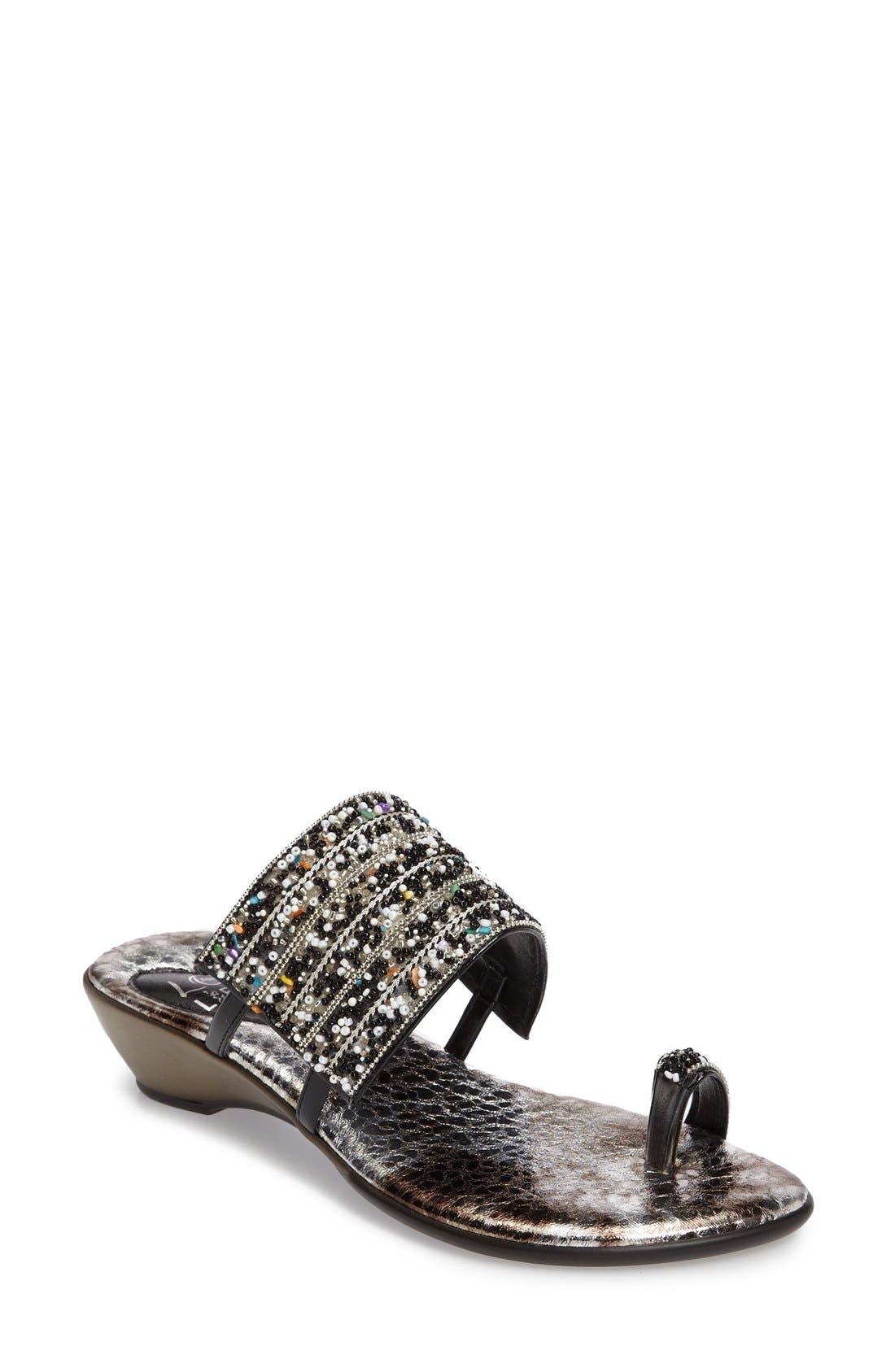 Love and Liberty Sammy Toe Ring Sandal (Women)