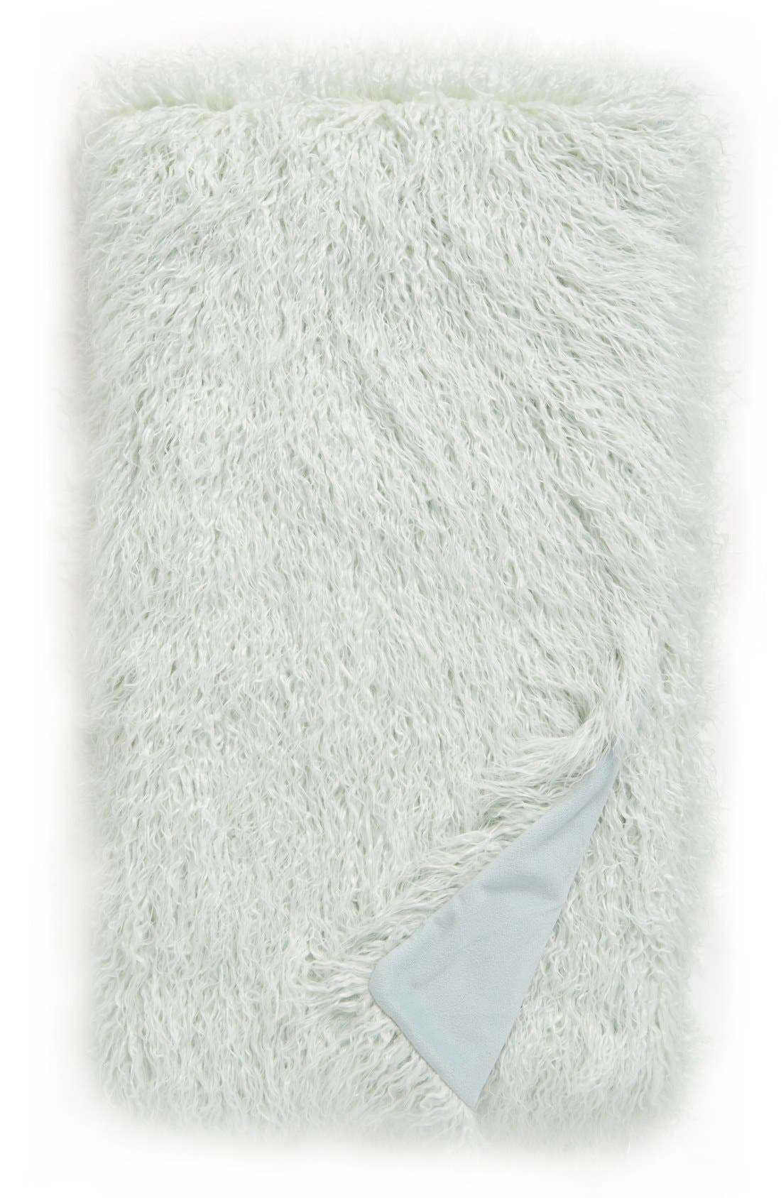 Nordstrom at Home Mongolian Faux Fur Throw