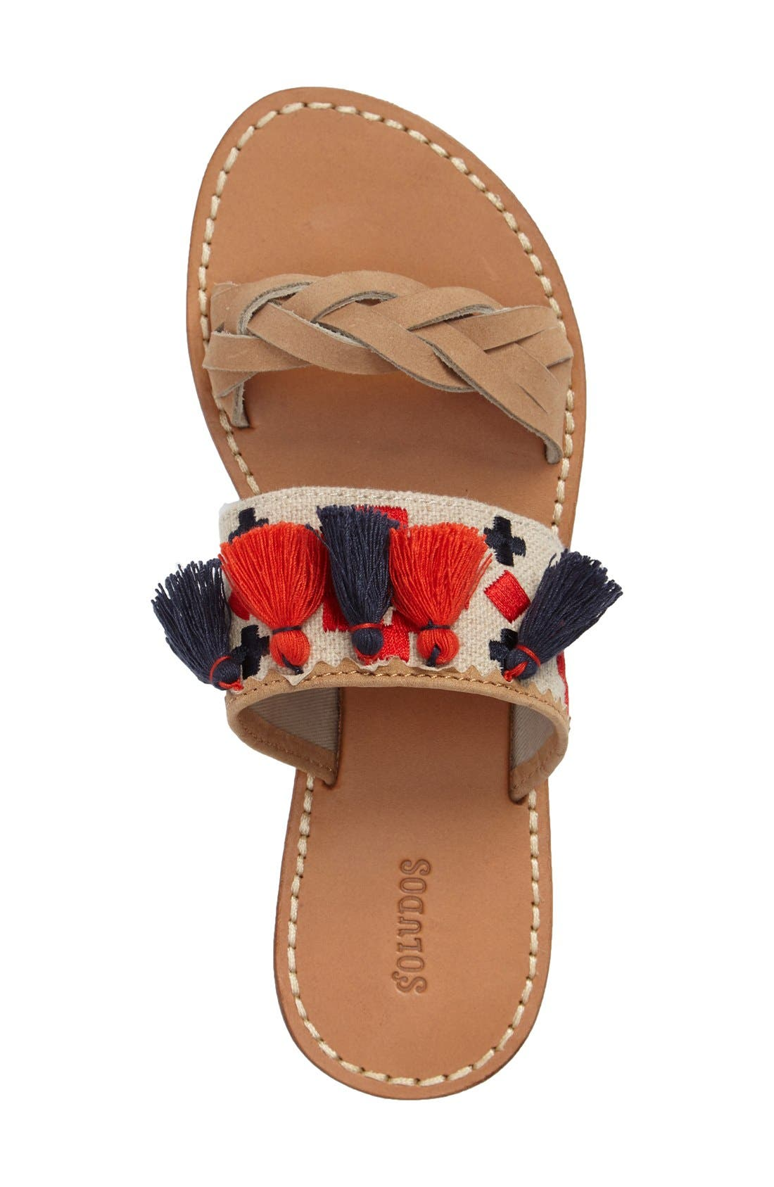 Alternate Image 3  - Soludus Embroidered Slide Sandal (Women)