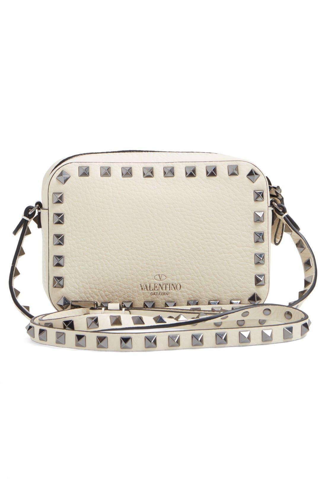 Alternate Image 2  - Valentino Rockstud Mini Camera Crossbody Bag