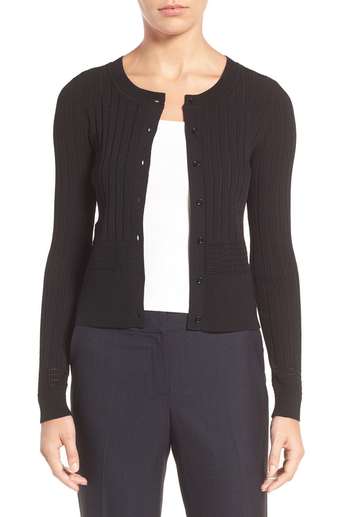 Classiques Entier® Texture Knit Cardigan