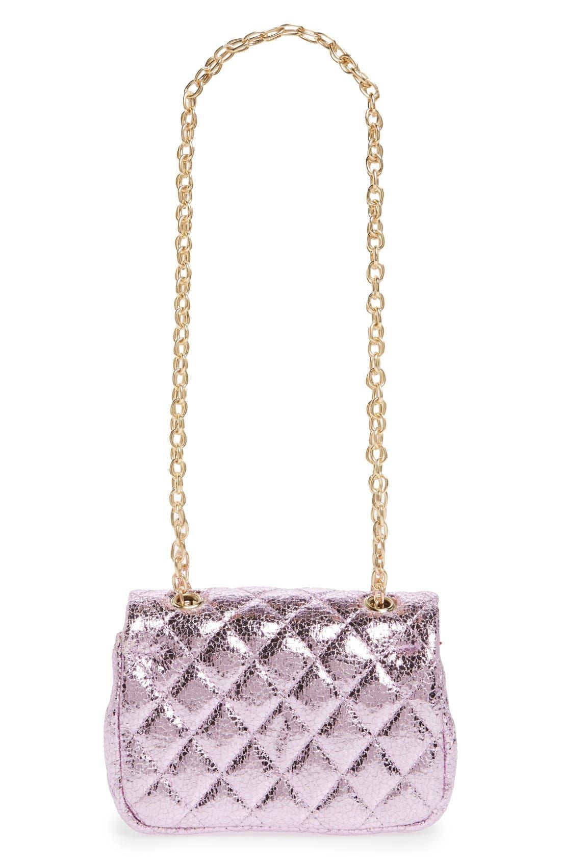 Alternate Image 2  - Popatu Quilted Crossbody Bag (Girls)