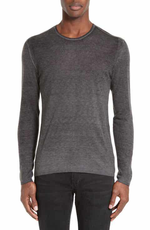 John Varvatos Collection Silk   Cashmere Sweater