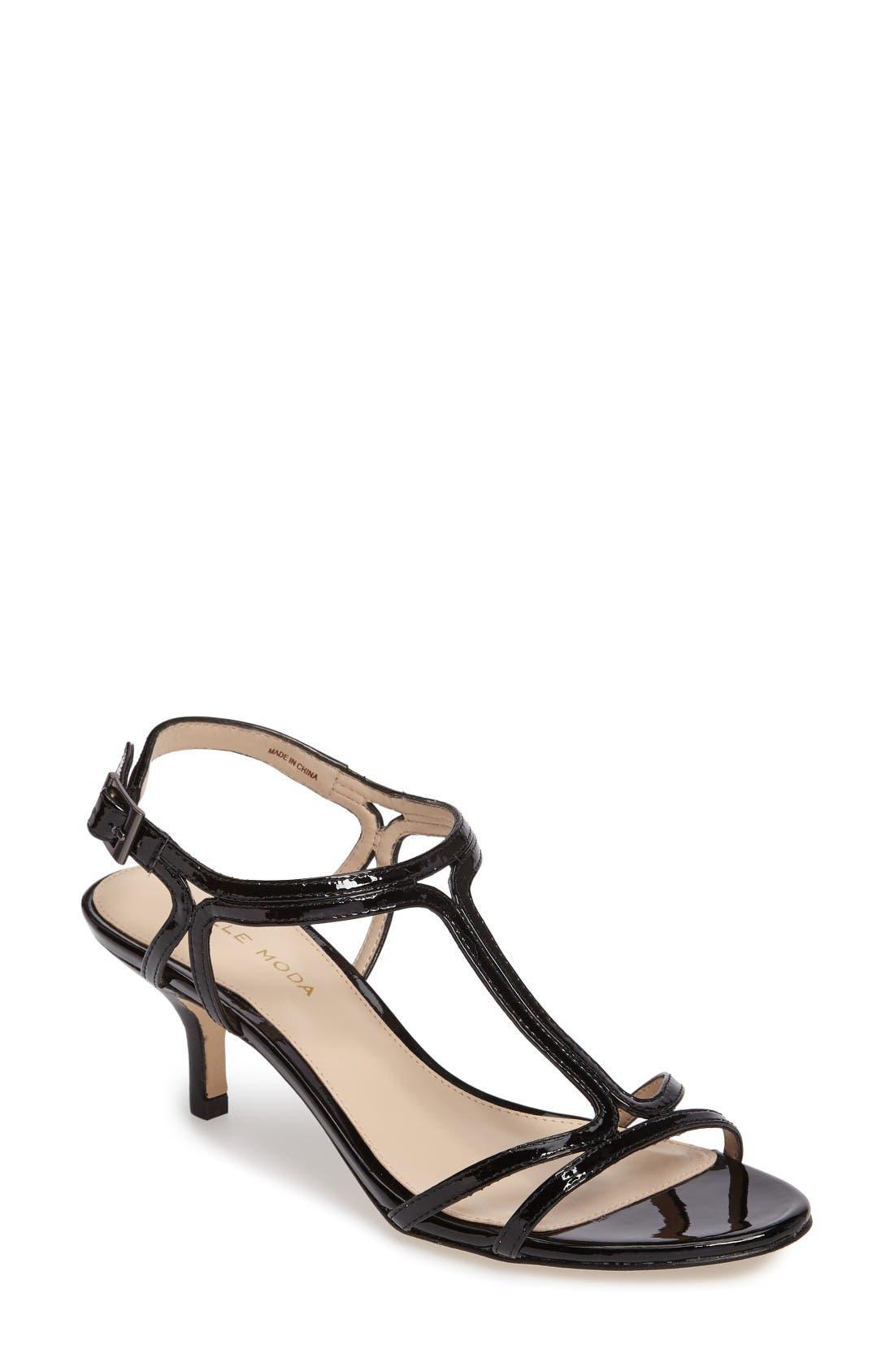 PELLE MODA Abbie Strappy Kitten Heel Sandal