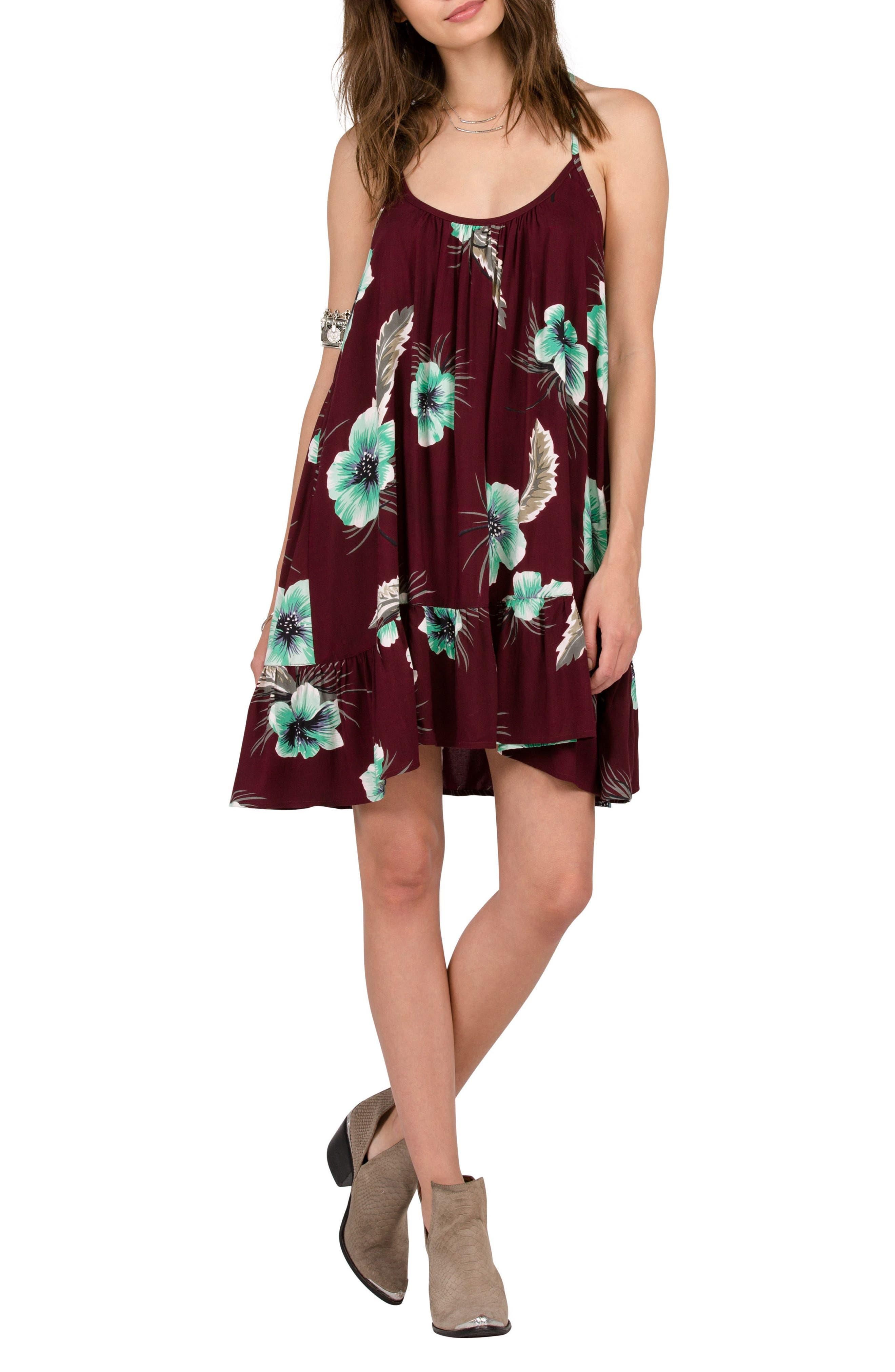 Alternate Image 1 Selected - Volcom Stampede Print Dress