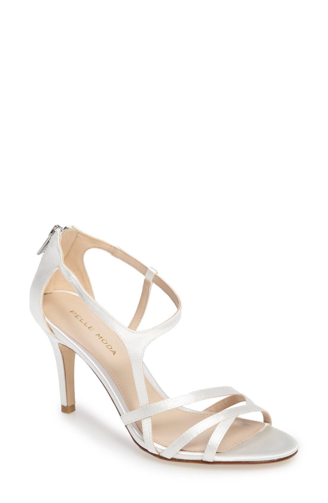 PELLE MODA Ruby Asymmetrical Strappy Sandal