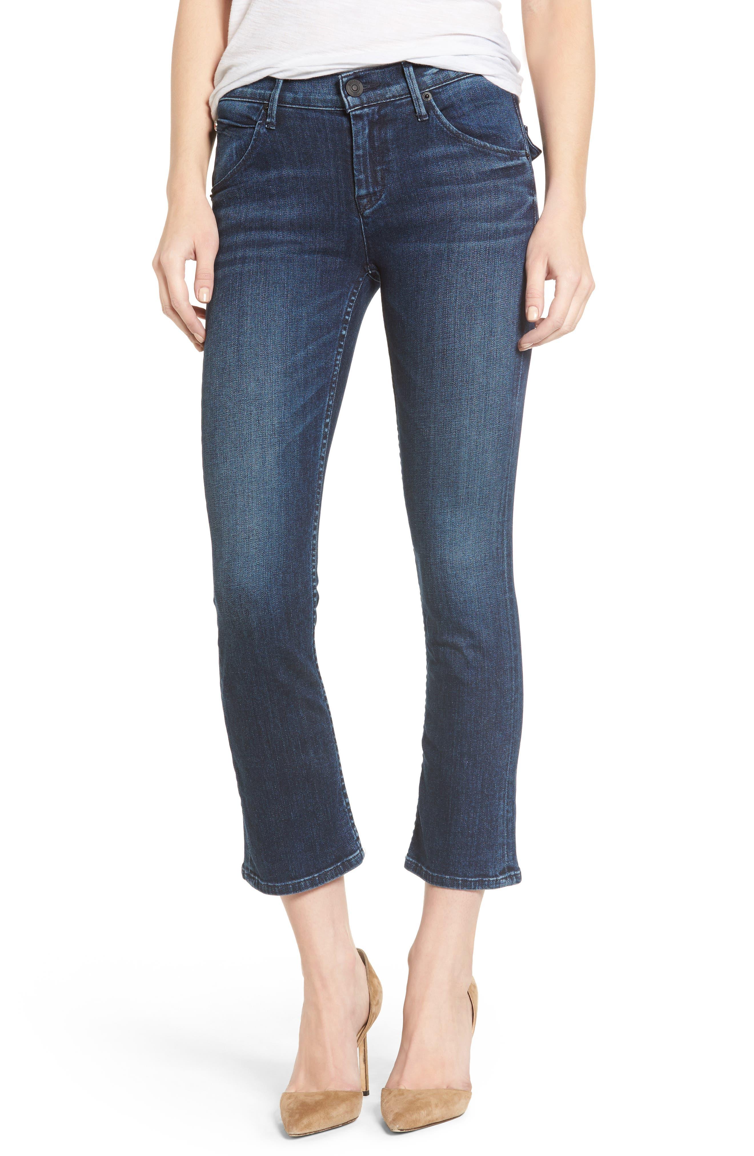 Hudson Jeans Bailee Crop Baby Bootcut Jeans | Nordstrom