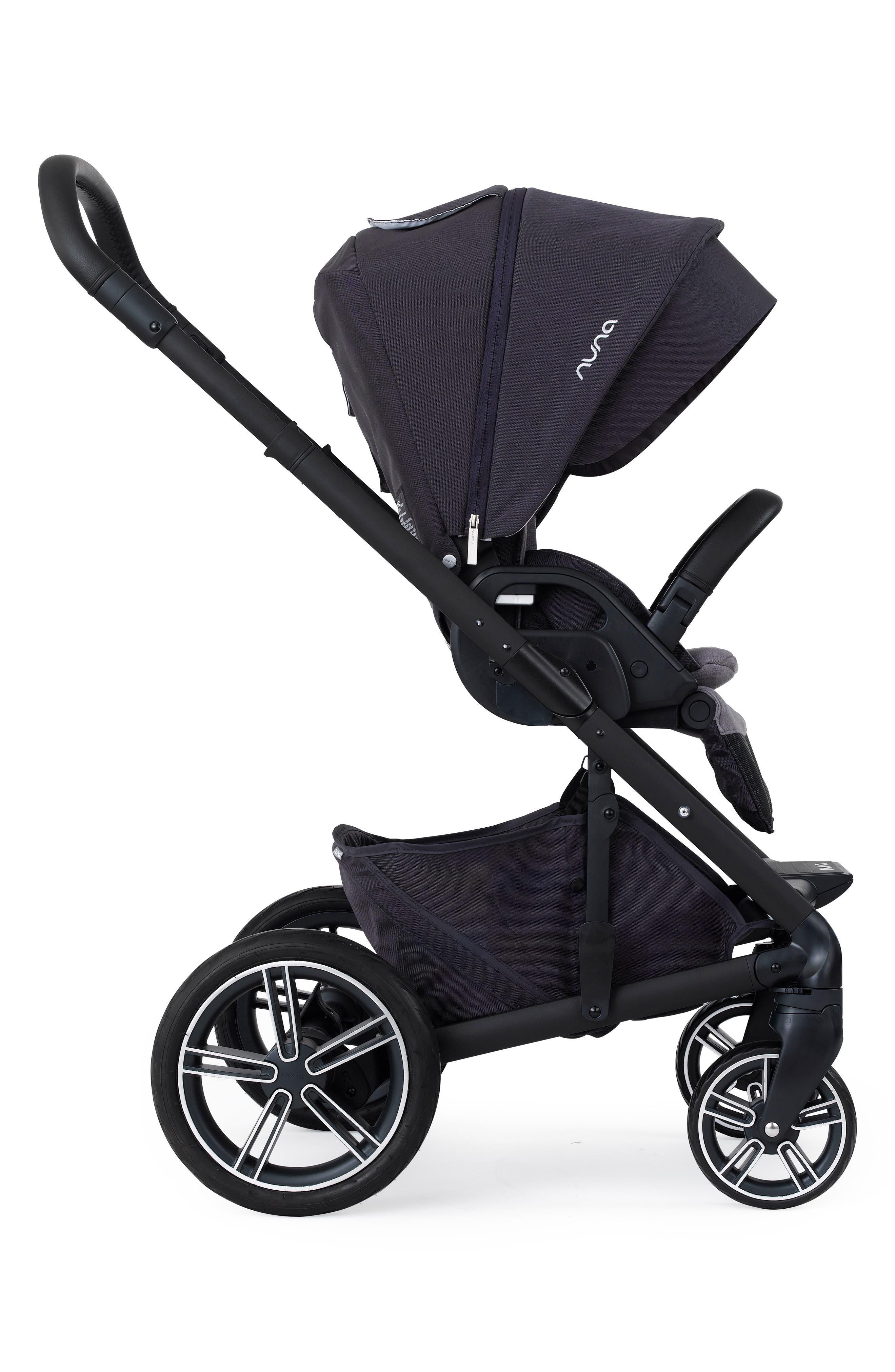 Alternate Image 2  - nuna MIXX™ Stroller System & PIPA™ Car Seat Set