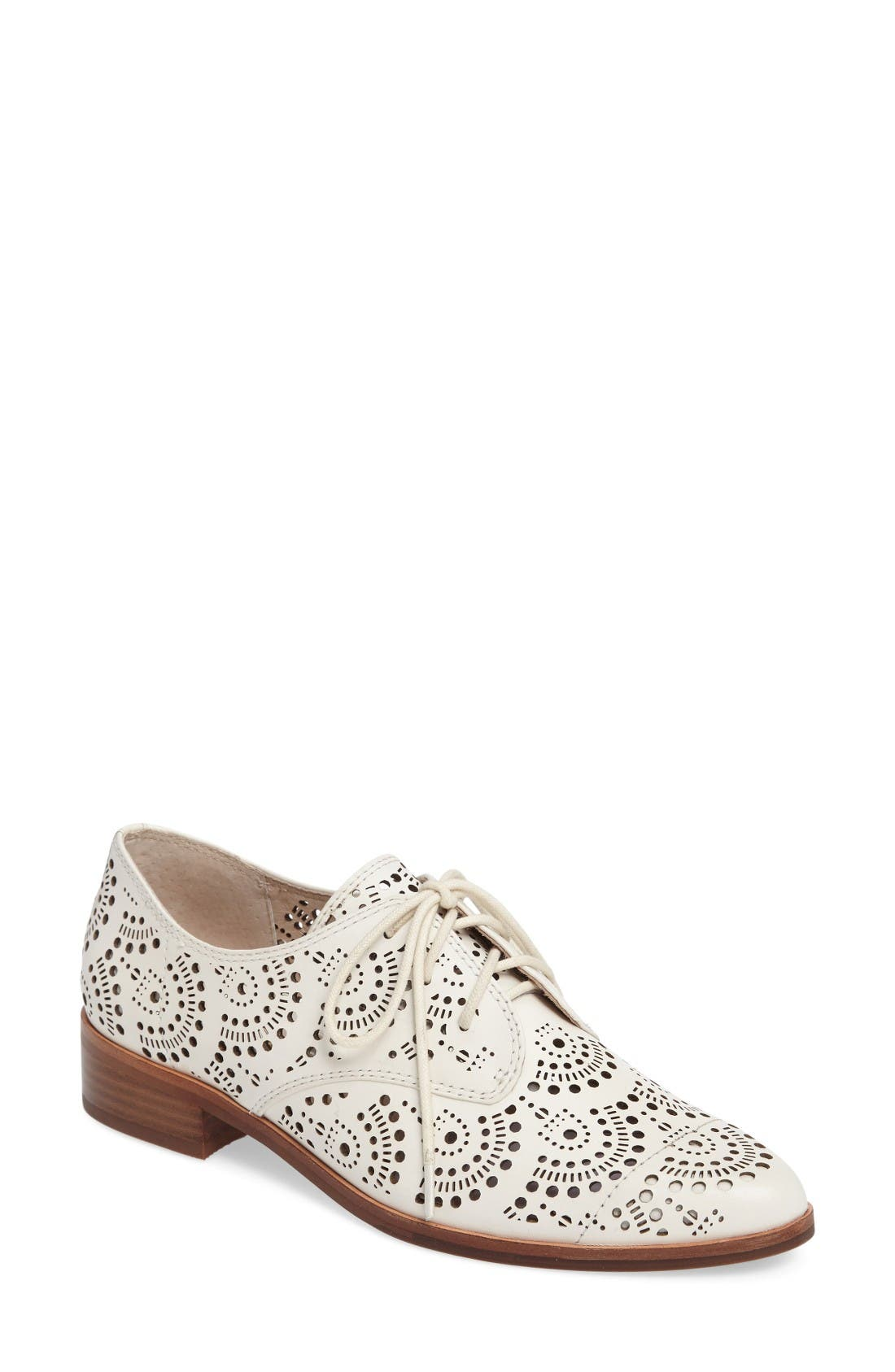 Main Image - Louise et Cie Annacis Perforated Oxford (Women)
