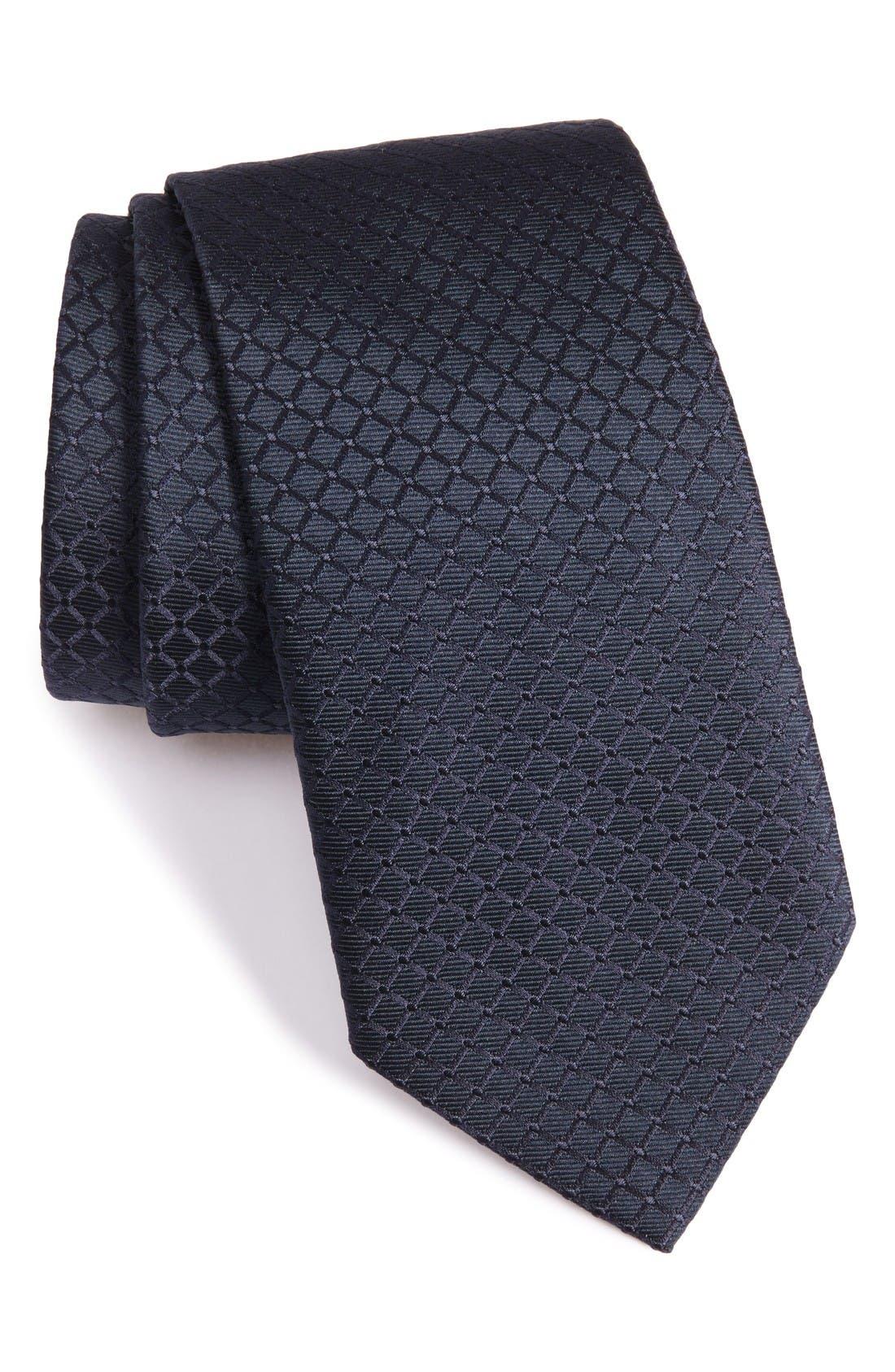 ARMANI COLLEZIONI Diamond Neat Tie
