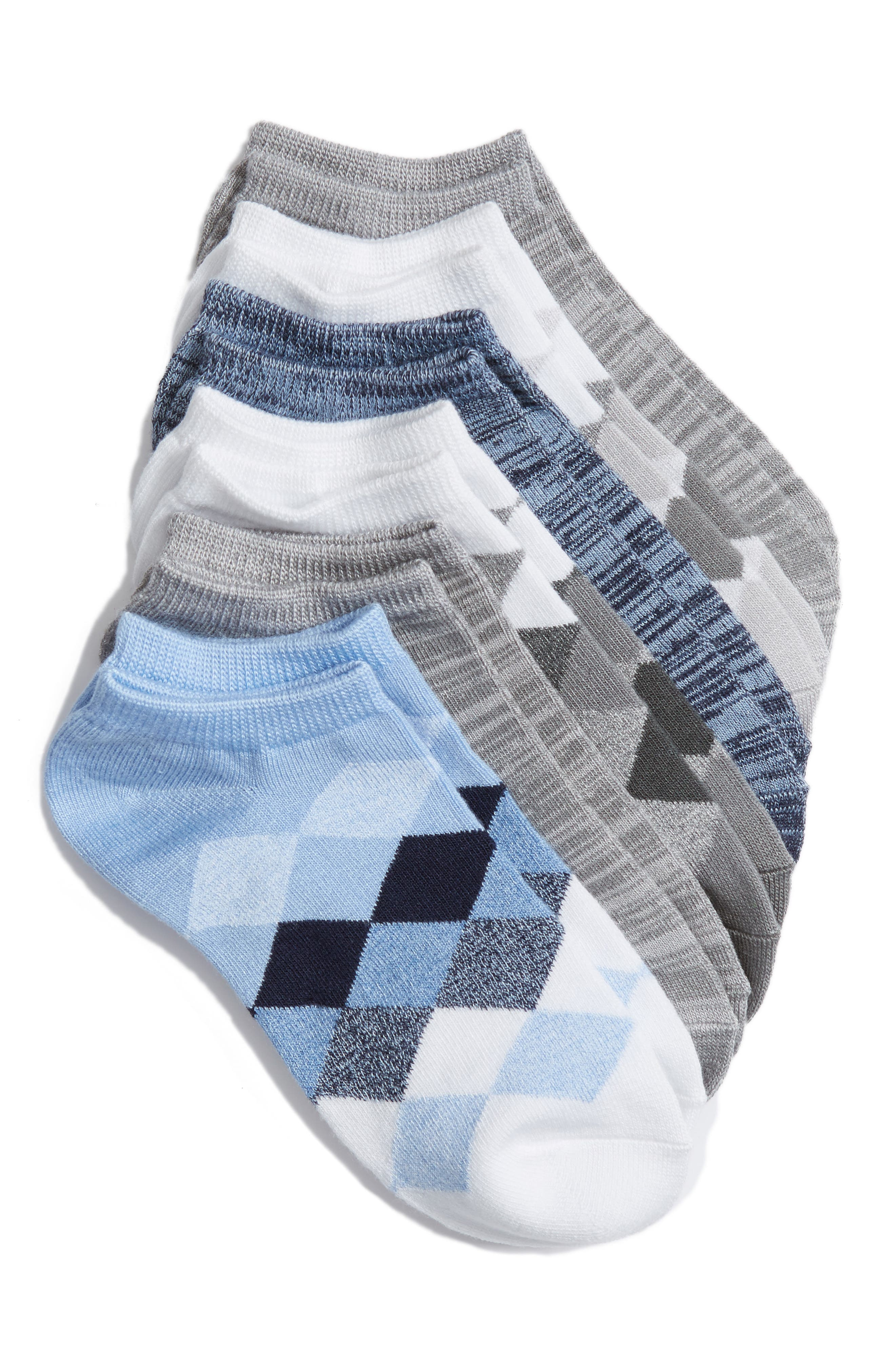 Sof Sole 6-Pack No-Show Socks
