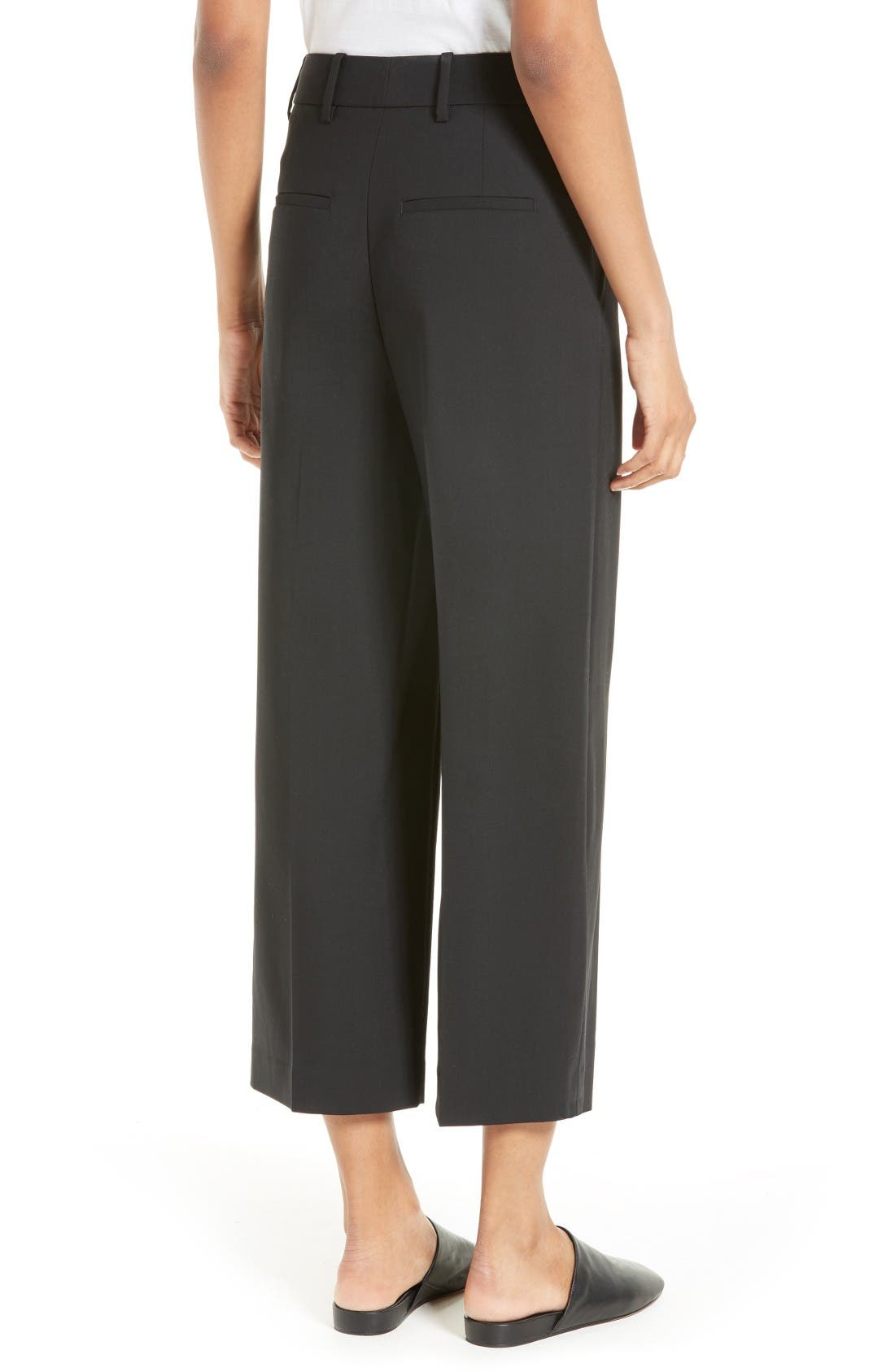 Alternate Image 2  - Vince Stretch Wool Trousers