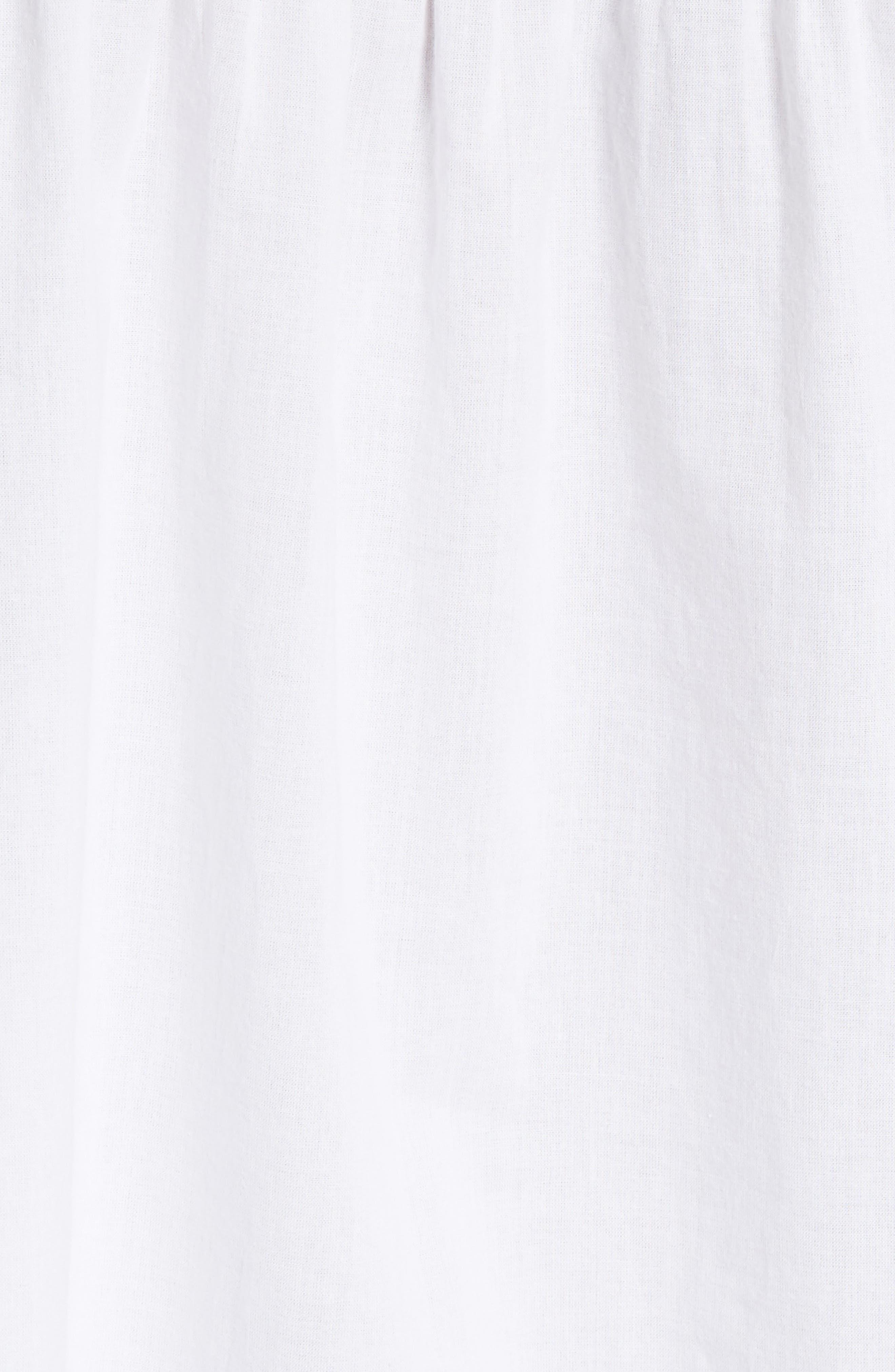 Alternate Image 5  - Theory Matara E Embroidered Cotton Top