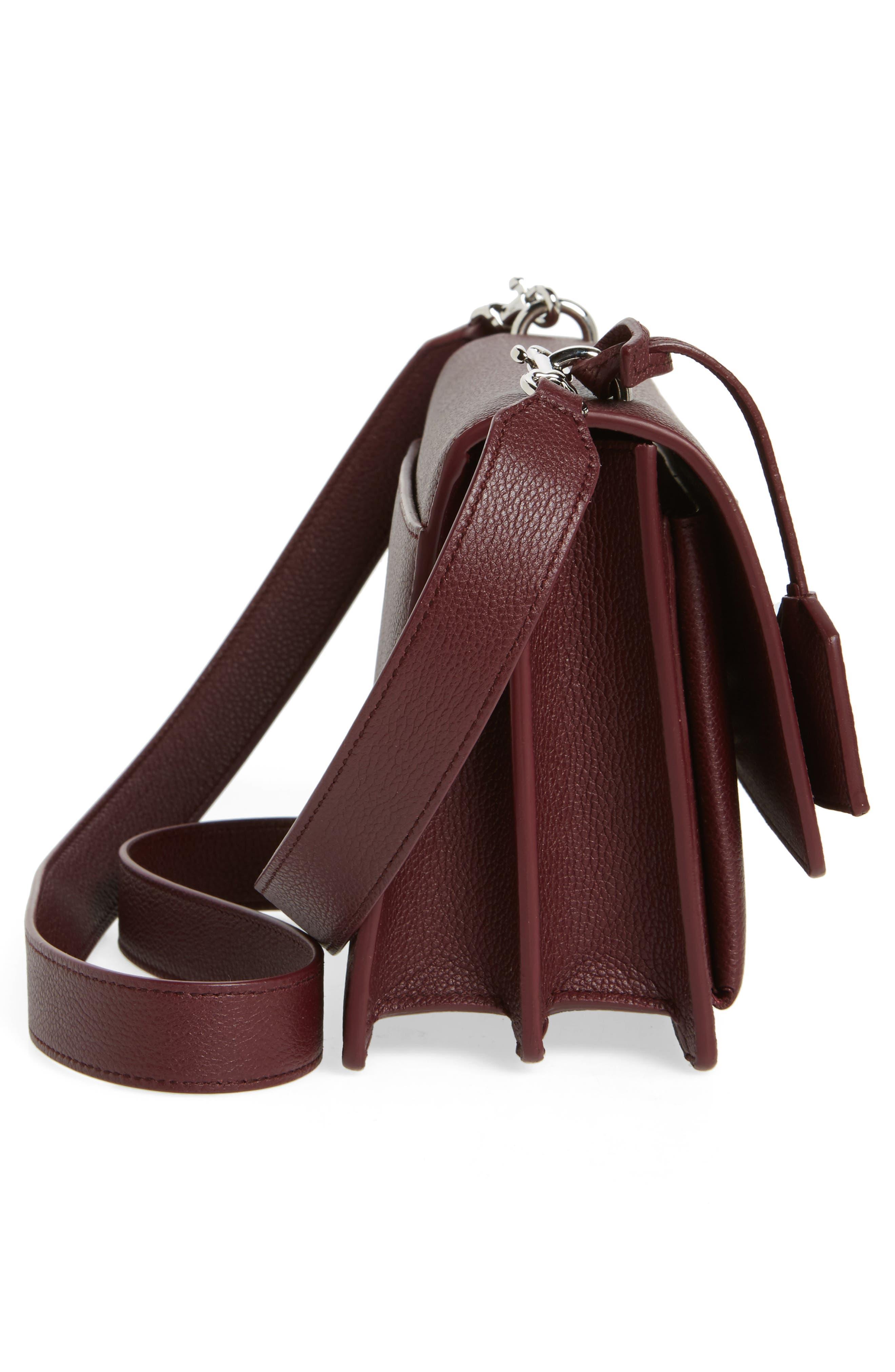 Alternate Image 5  - Saint Laurent Medium Sunset Leather Shoulder Bag