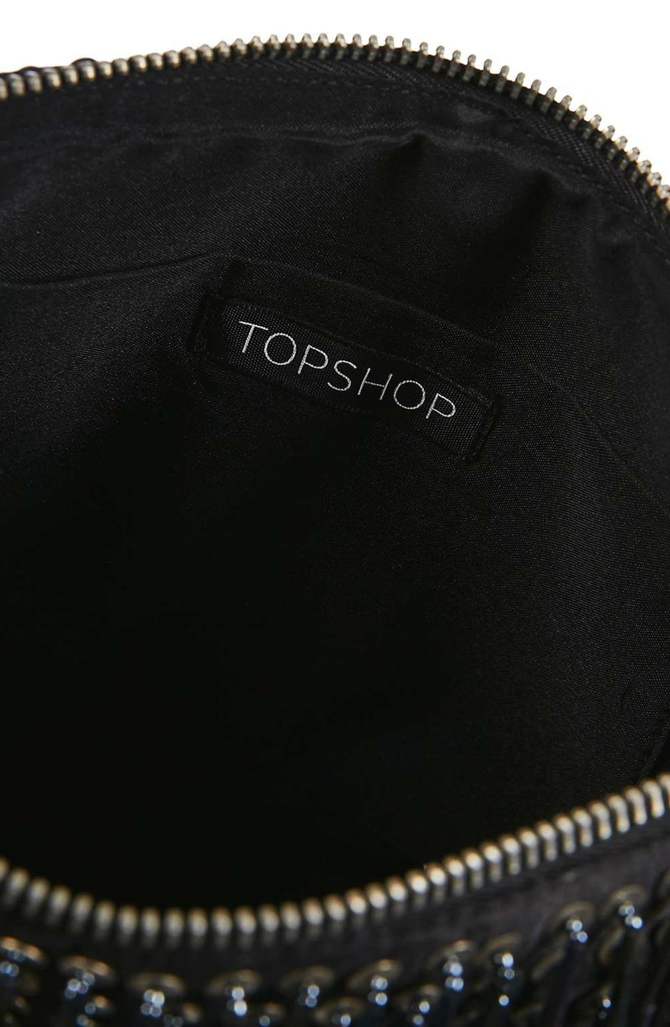 Alternate Image 6  - Topshop Oto Embroidered Crossbody
