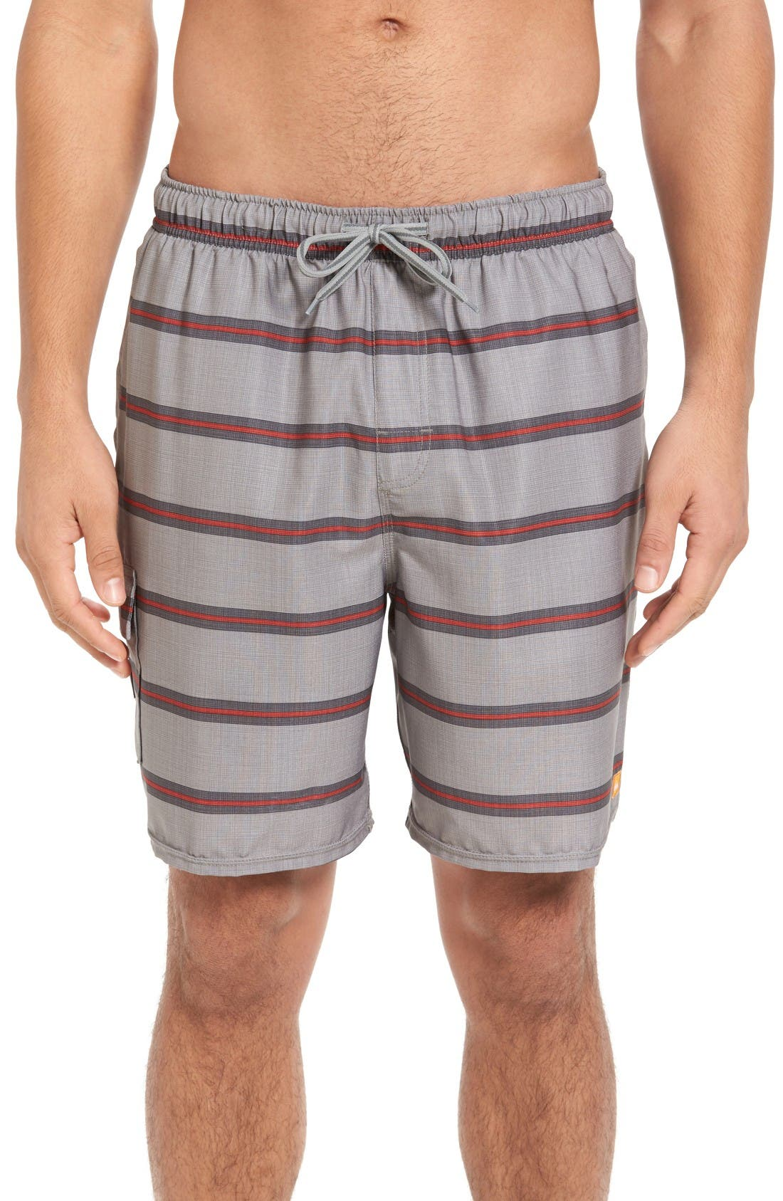 Quiksilver Waterman Collection 'Parker' Swim Trunks