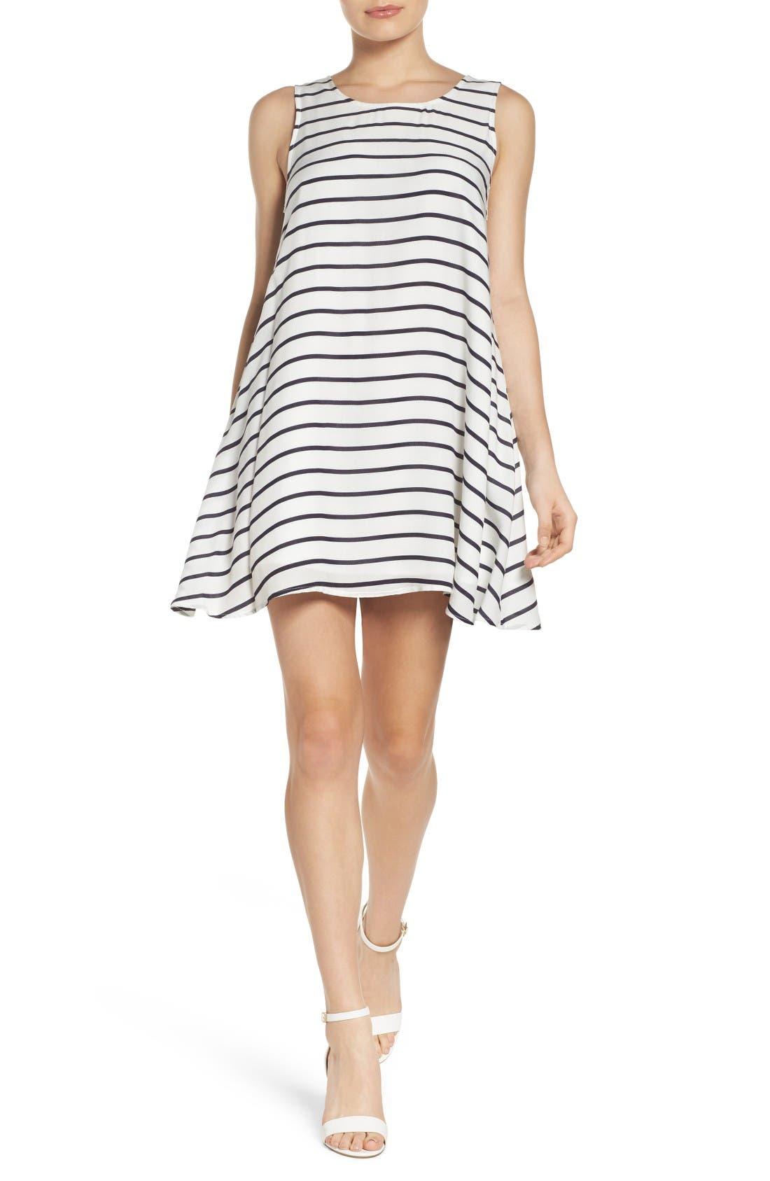 Alternate Image 4  - BB Dakota Shaye Trapeze Dress