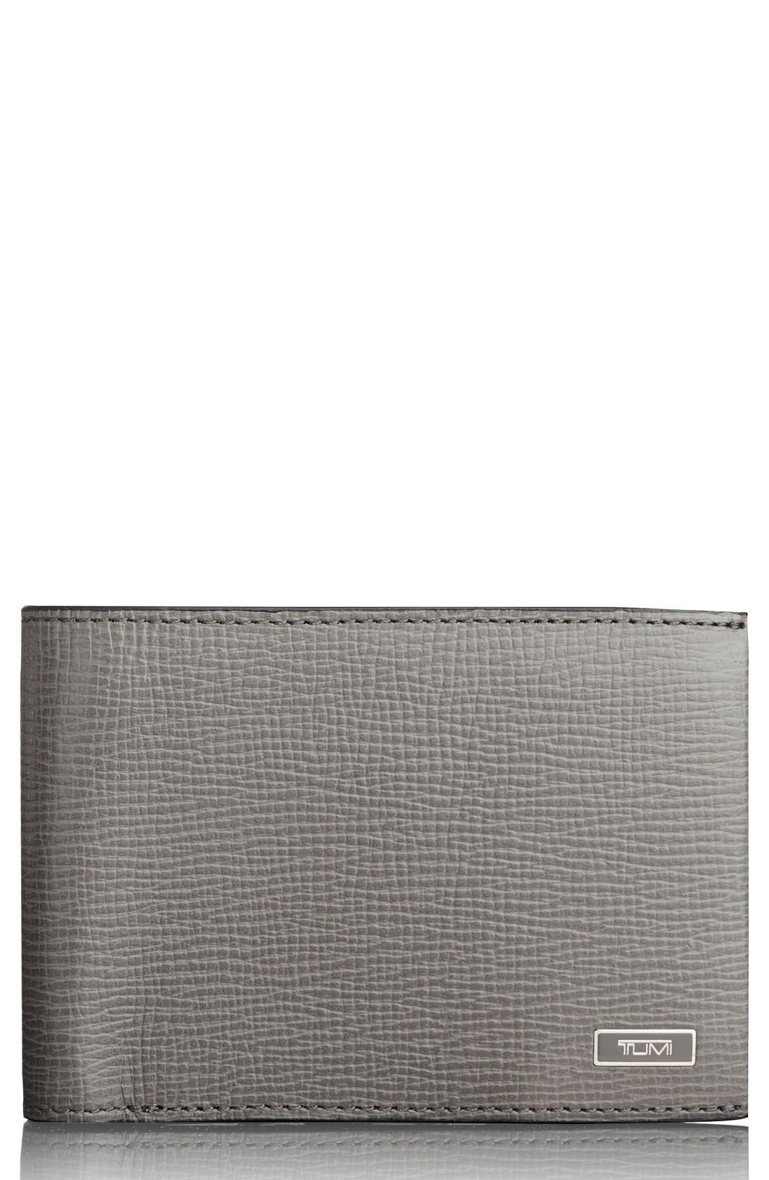 Tumi Monaco Leather RFID Wallet