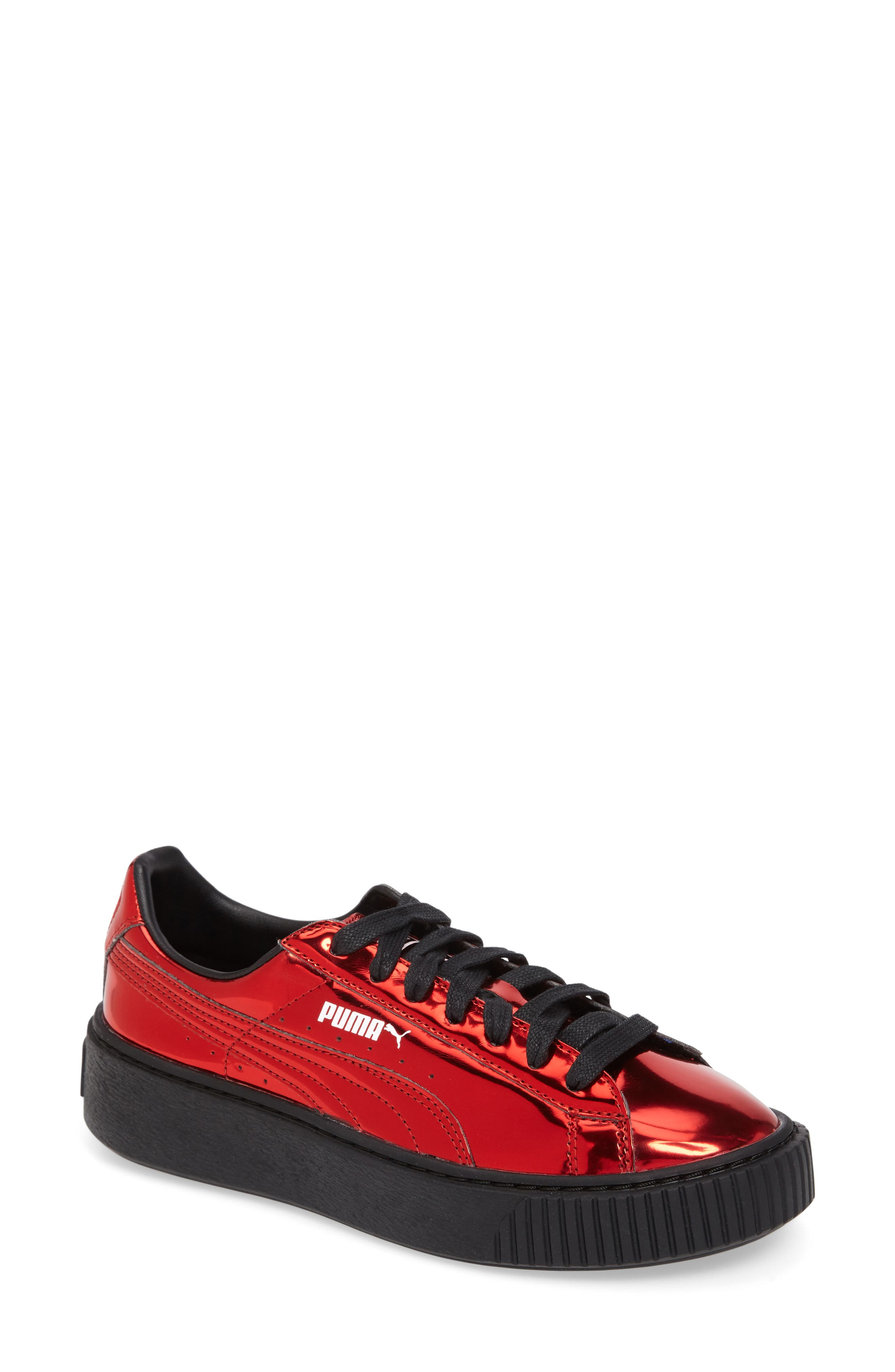 Alternate Image 1 Selected - PUMA Platform Sneaker (Women)