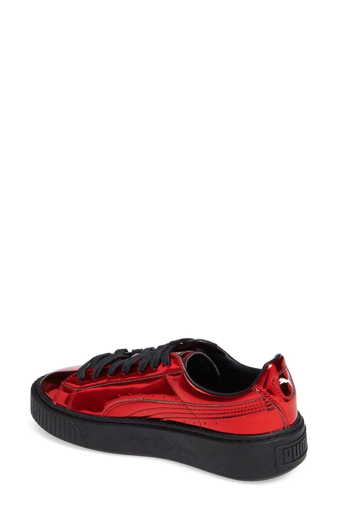 Alternate Image 2  - PUMA Platform Sneaker (Women)