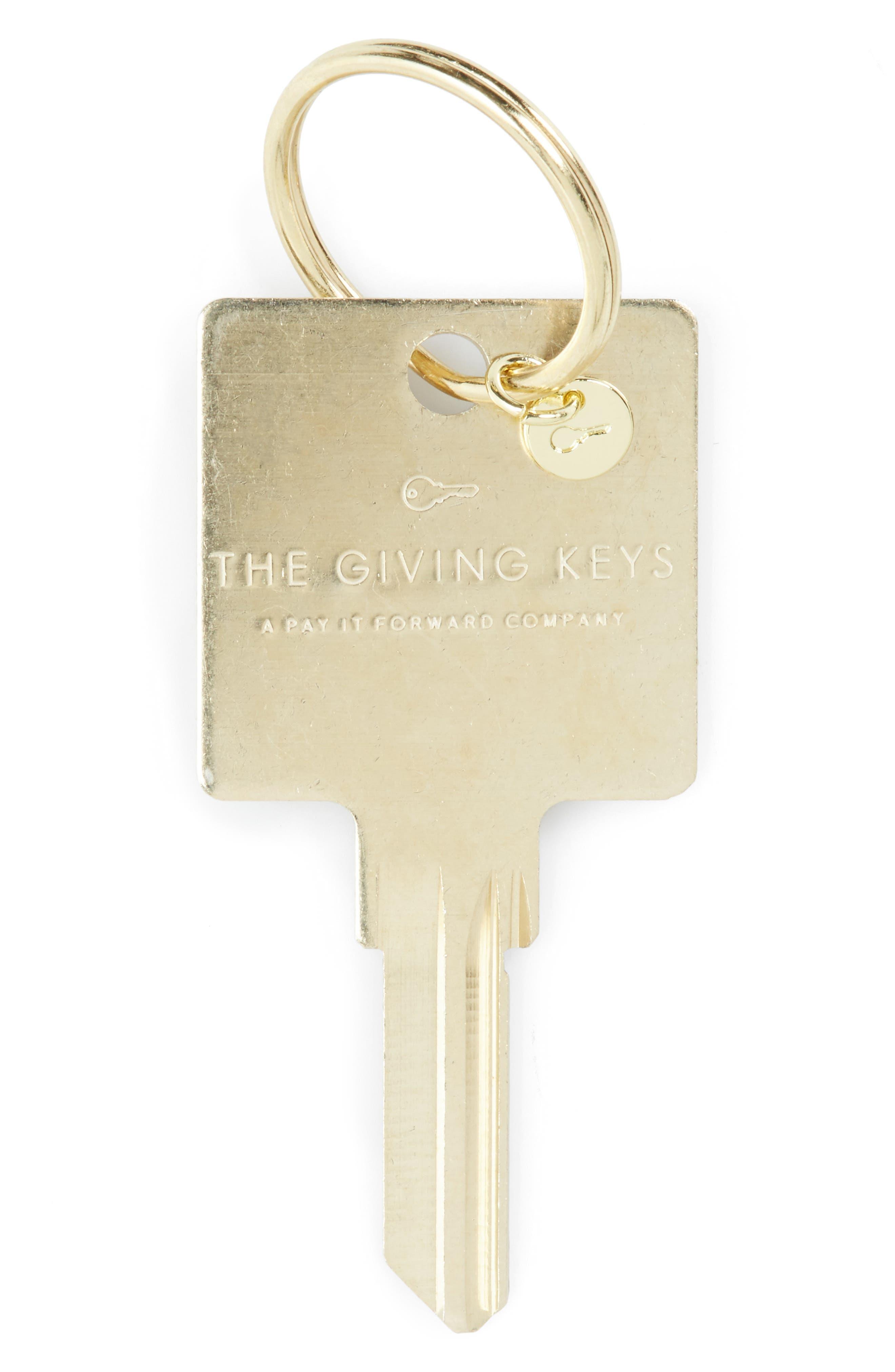 Alternate Image 2  - The Giving Keys Believe Hotel Key Ring