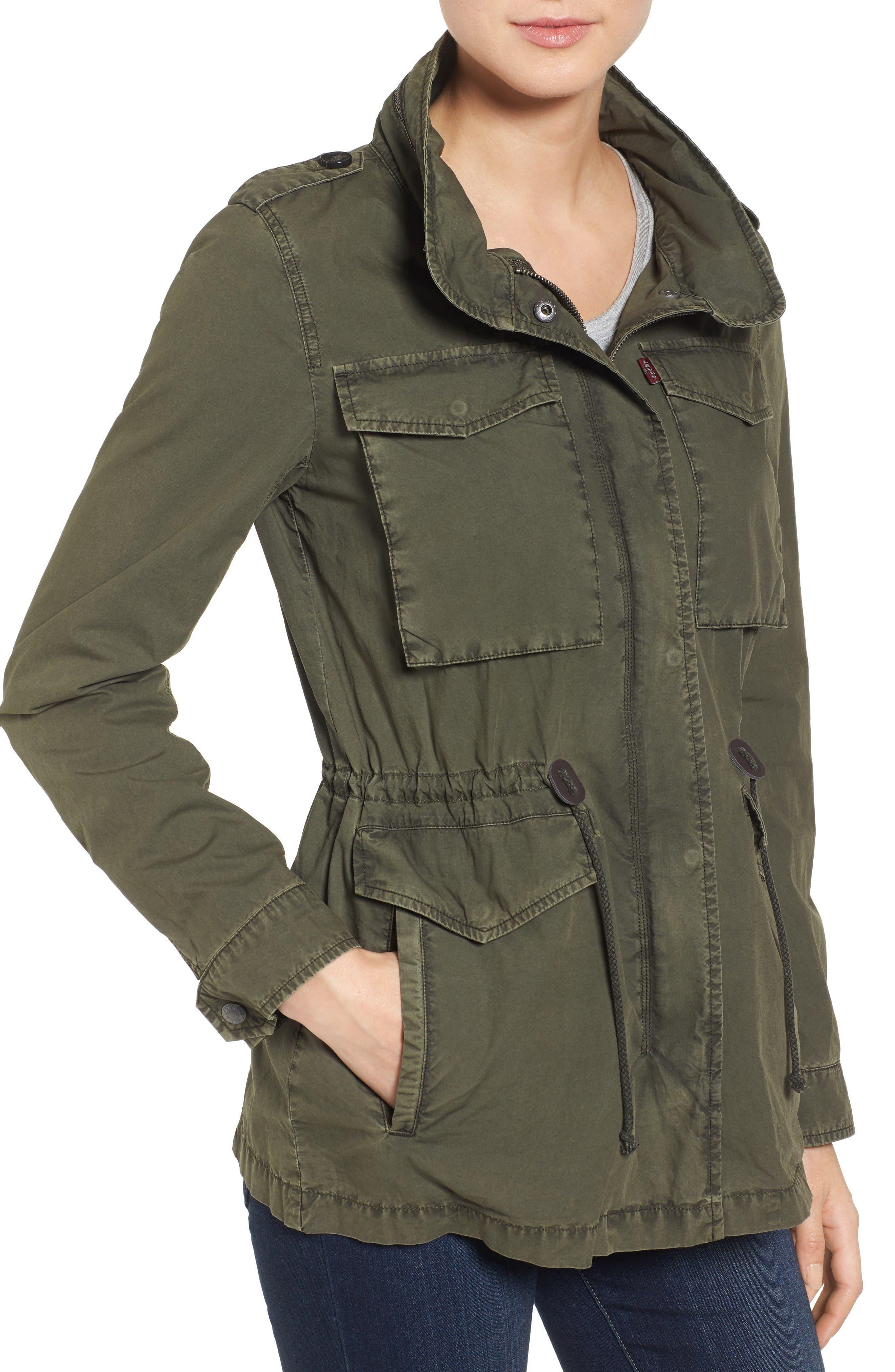 Alternate Image 4  - Levi's® Four-Pocket Military Jacket