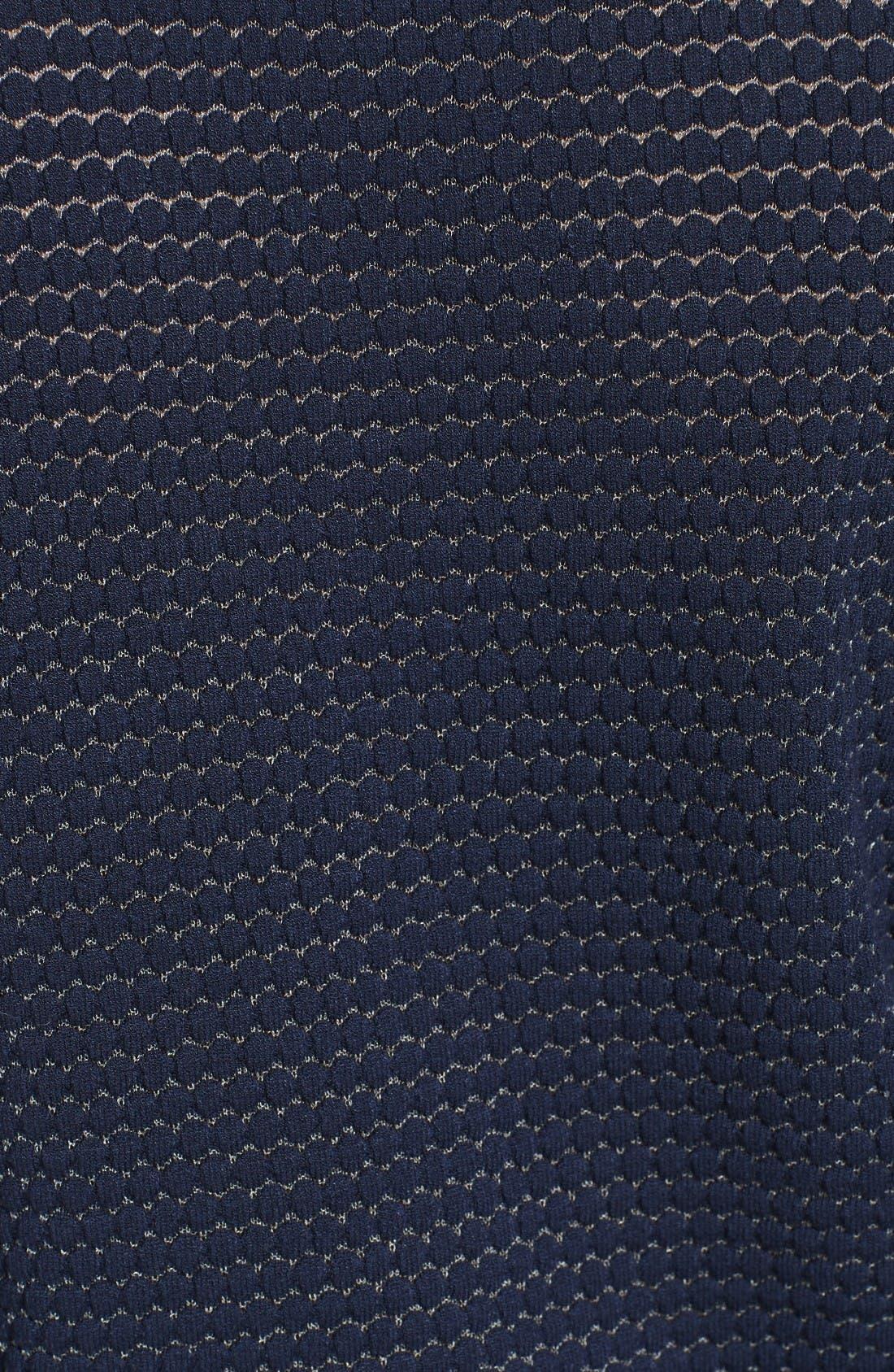 Alternate Image 5  - Milly Hexagon Knit Cardigan