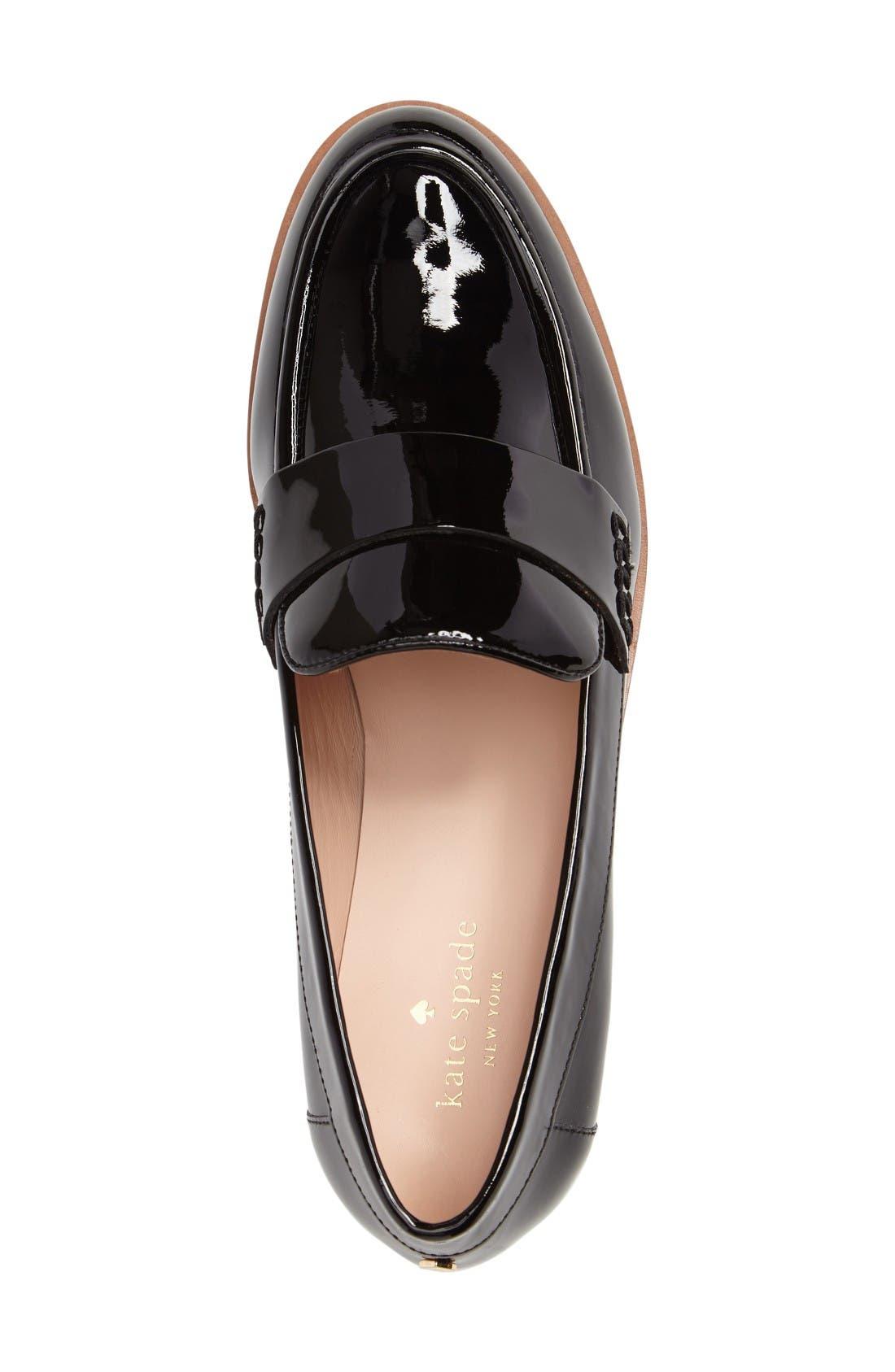 Alternate Image 3  - kate spade new york priya platform wedge loafer (Women)
