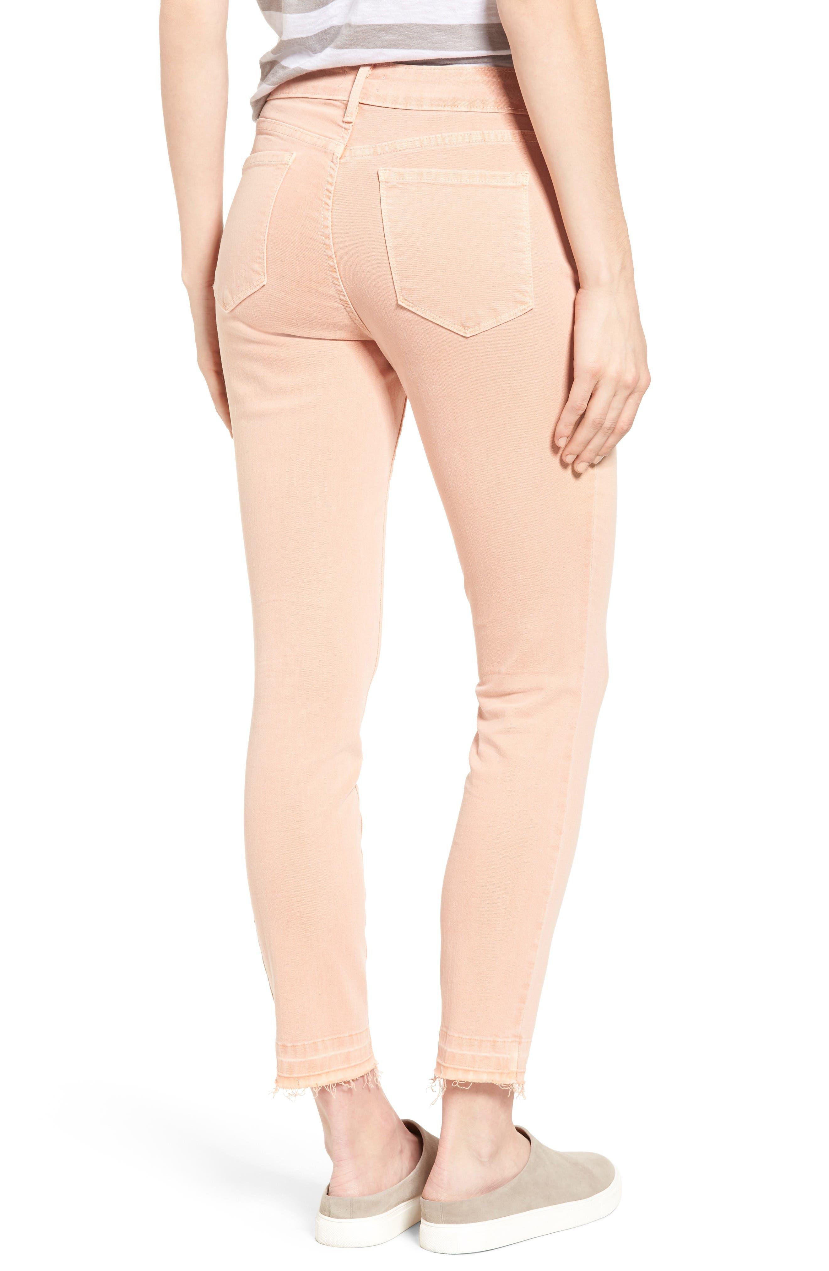 Alternate Image 2  - NYDJ Ami Release Hem Stretch Skinny Jeans (Regular & Petite)
