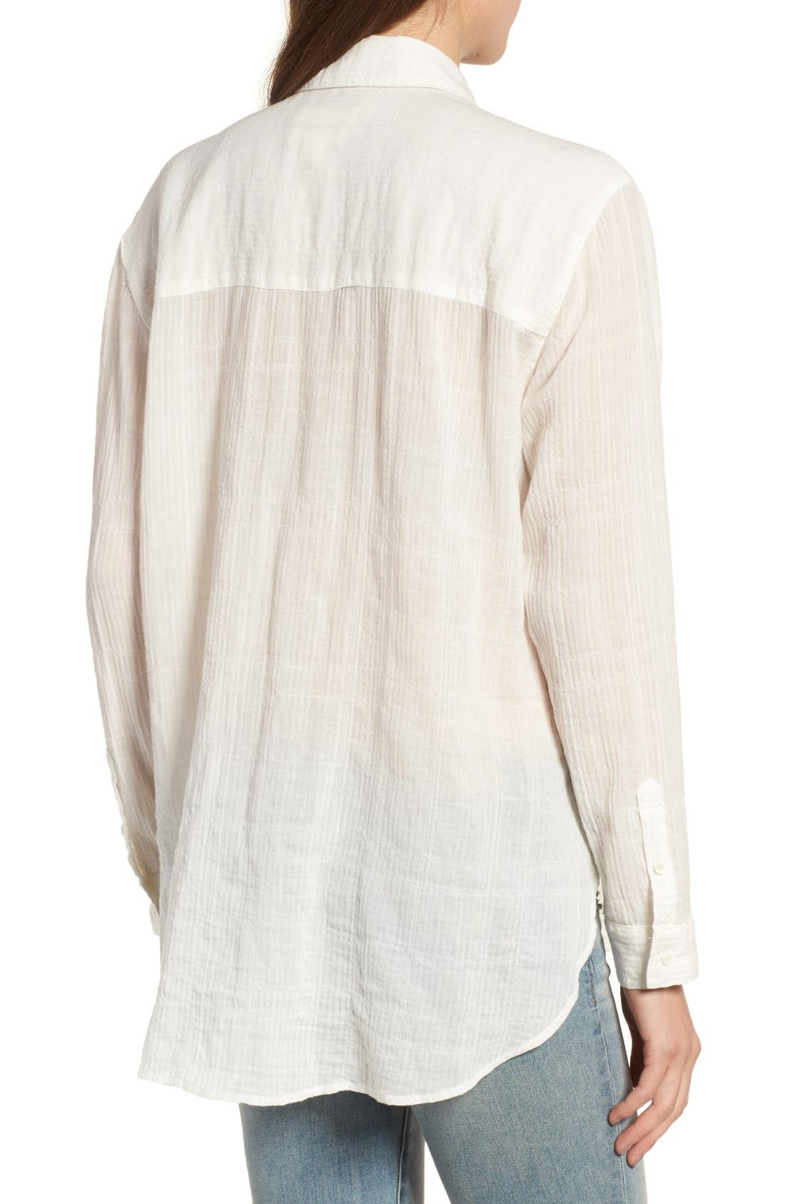 Alternate Image 2  - Treasure & Bond Crinkle Shirt