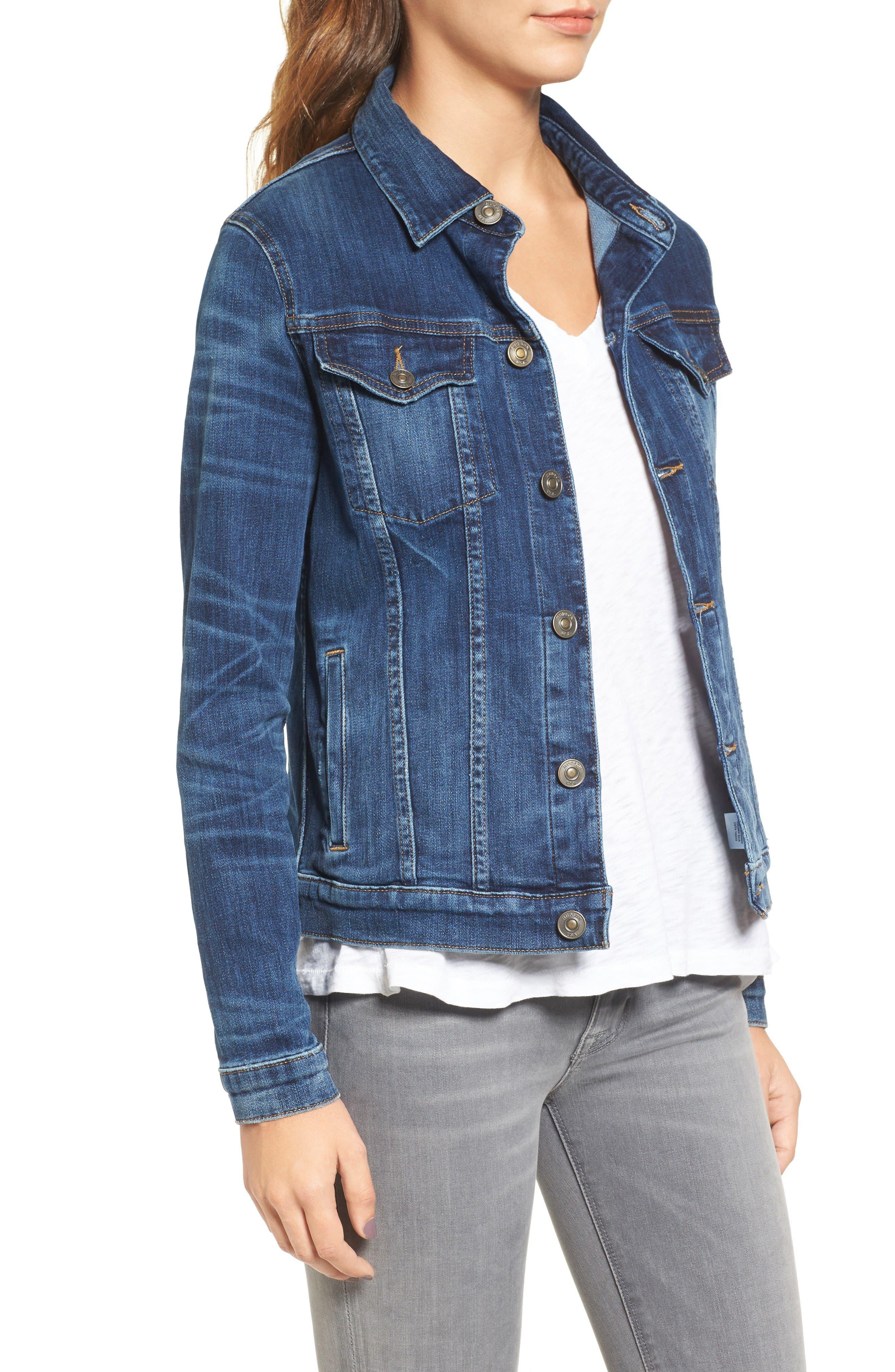 Alternate Image 3  - Hudson Jeans The Classic Denim Jacket